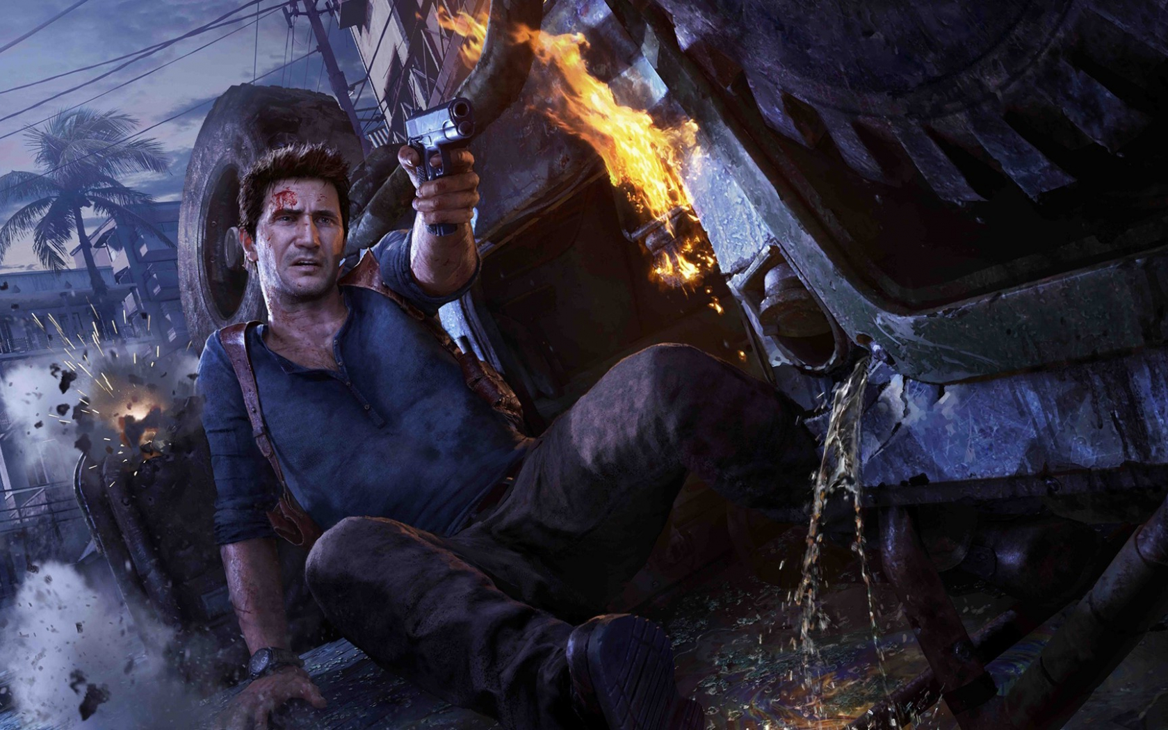 Free Download Nathan Drake Uncharted 4 A Thiefs End Video Games