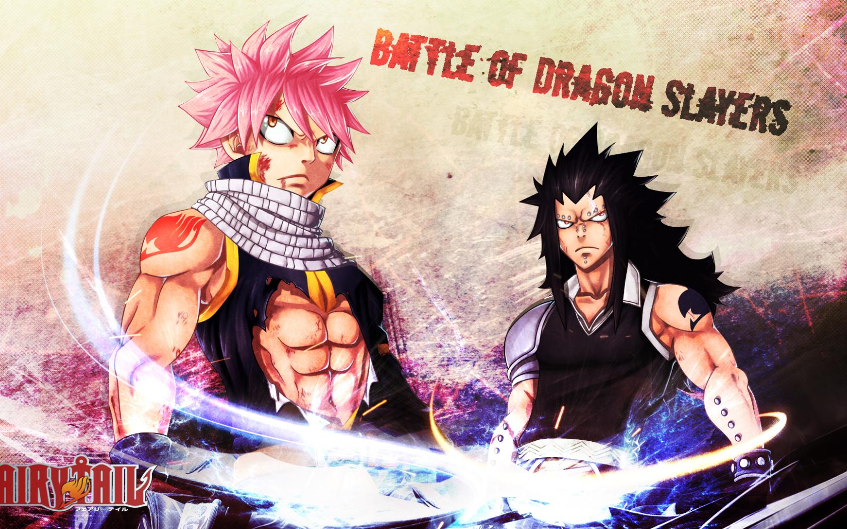 Free Download Dragon Slayer Gajeel Redfox And Natsu Dragneel