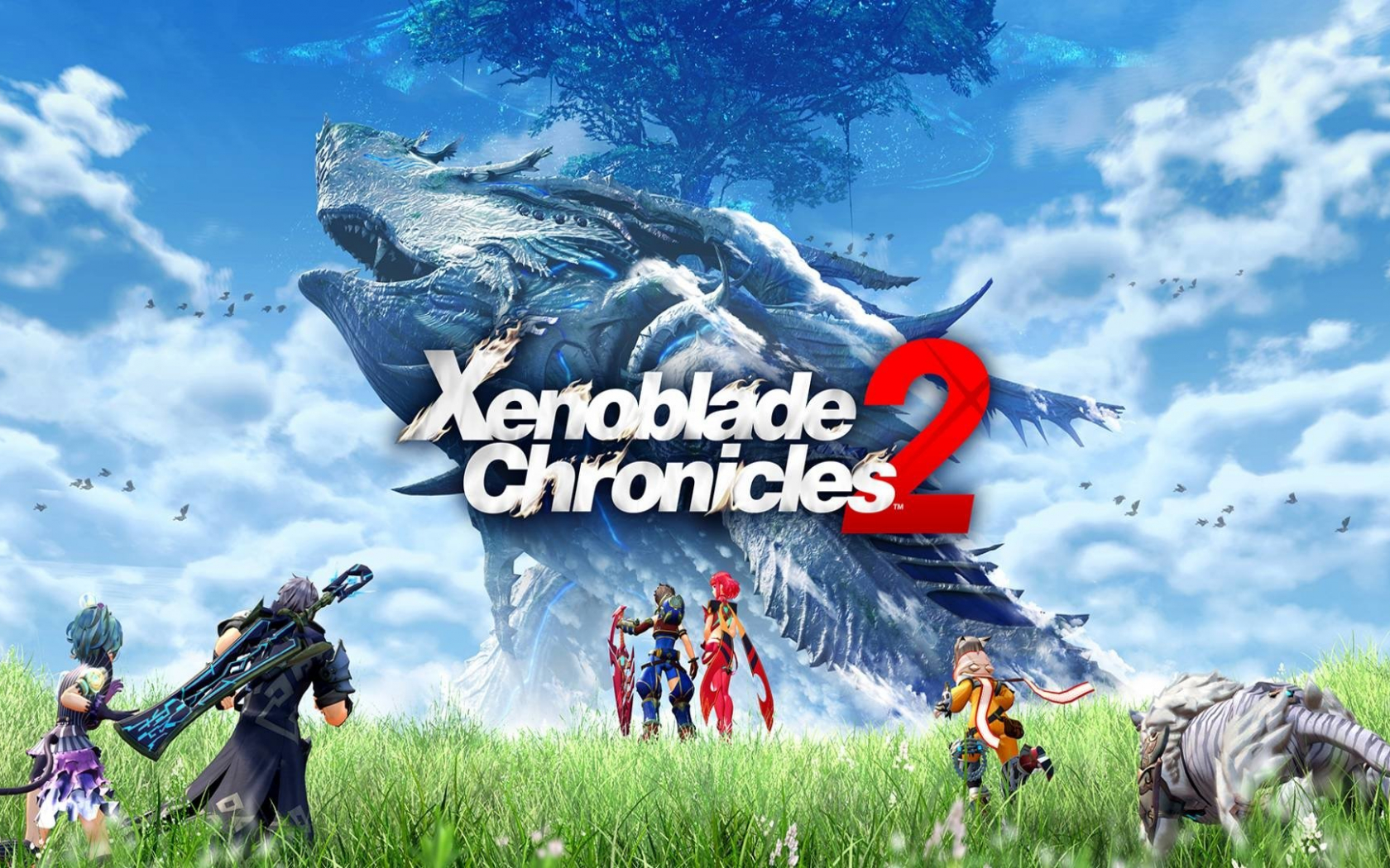 Free Download Xenoblade Chronicles 2 Hd Wallpaper Background Image