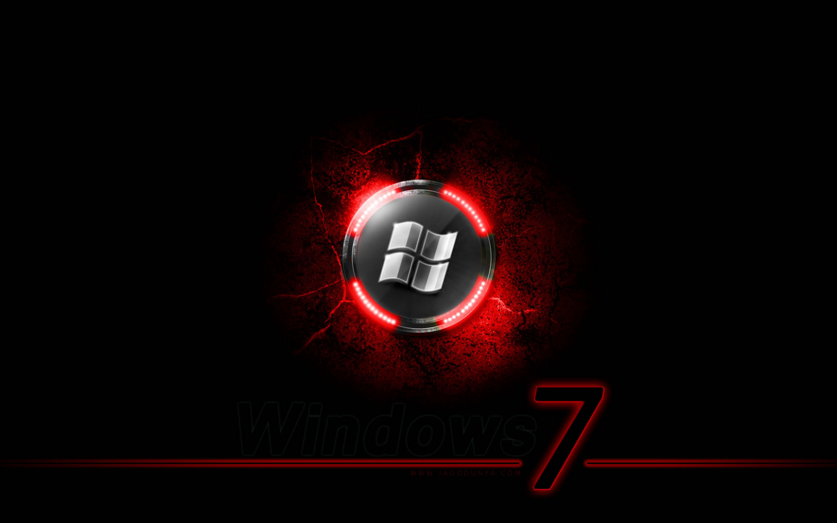 Free Download Black Windows 7 Hd Wallpapers 1920x1080 For Your