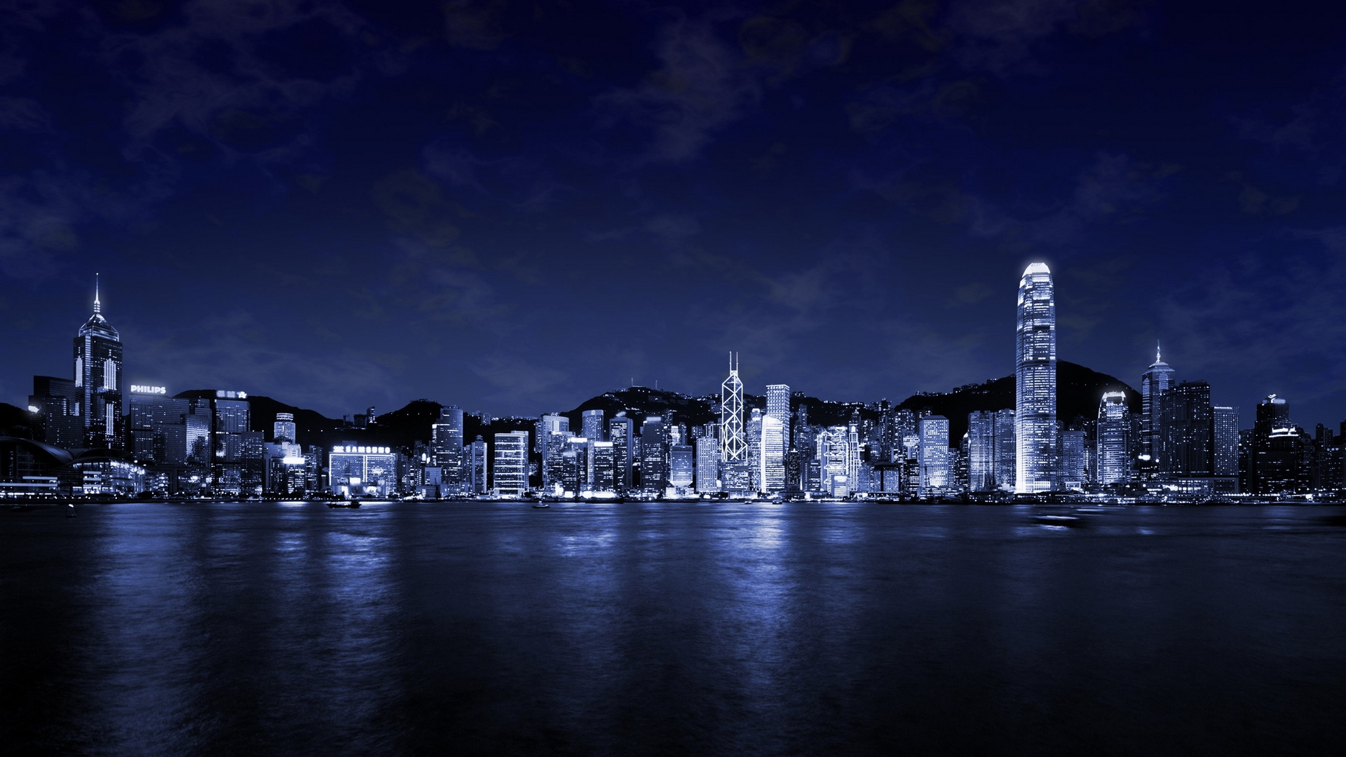 Free Download City At Night Wallpaper 724296 1920x1080 For