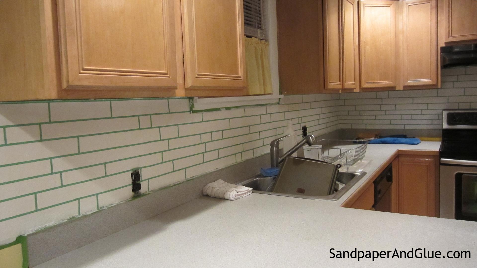 - Free Download DIY Faux Tile Backsplash Stephanie Marchetti