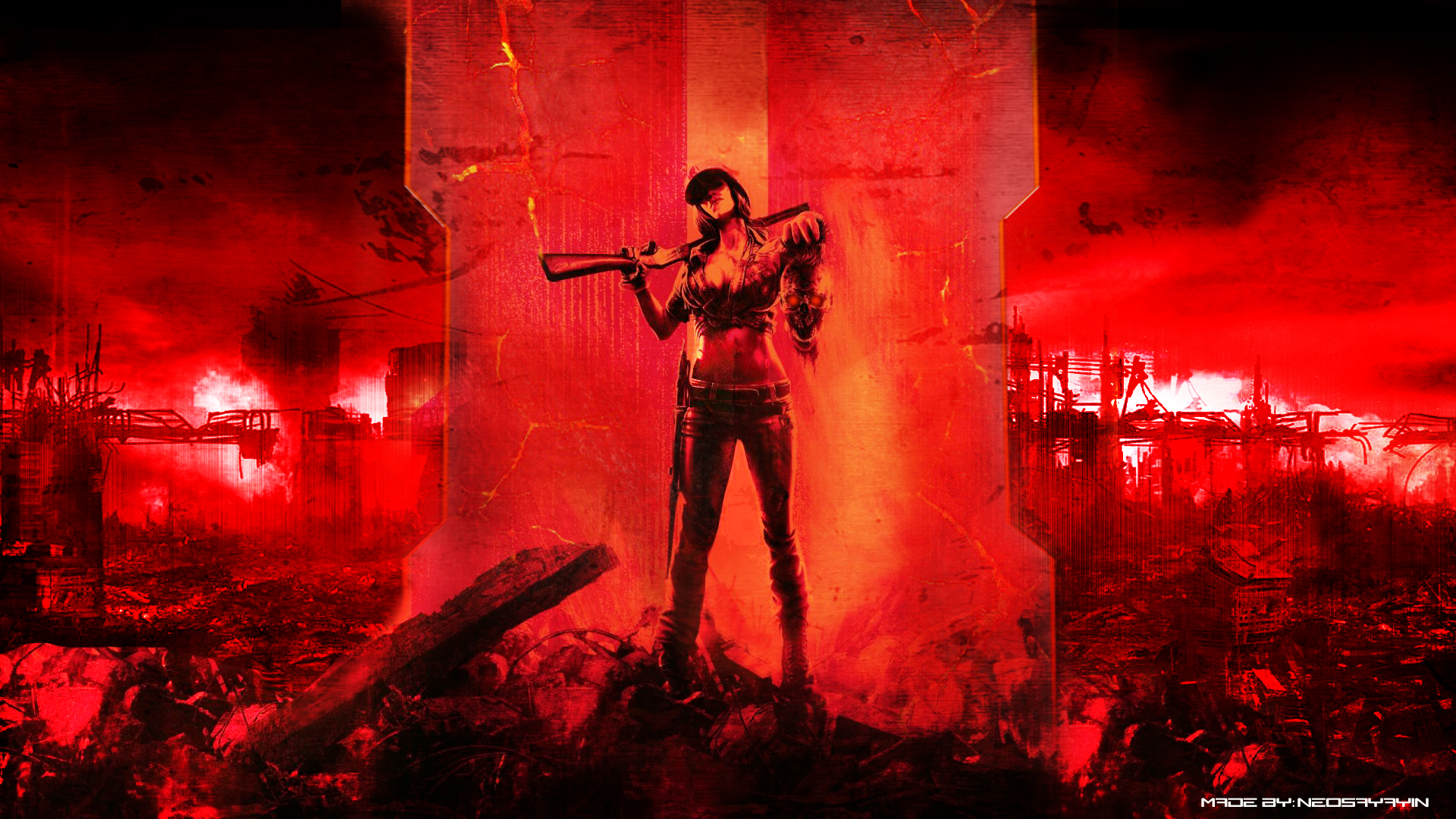 Free Download Call Of Duty Black Ops 2 Zombies Wallpaper By
