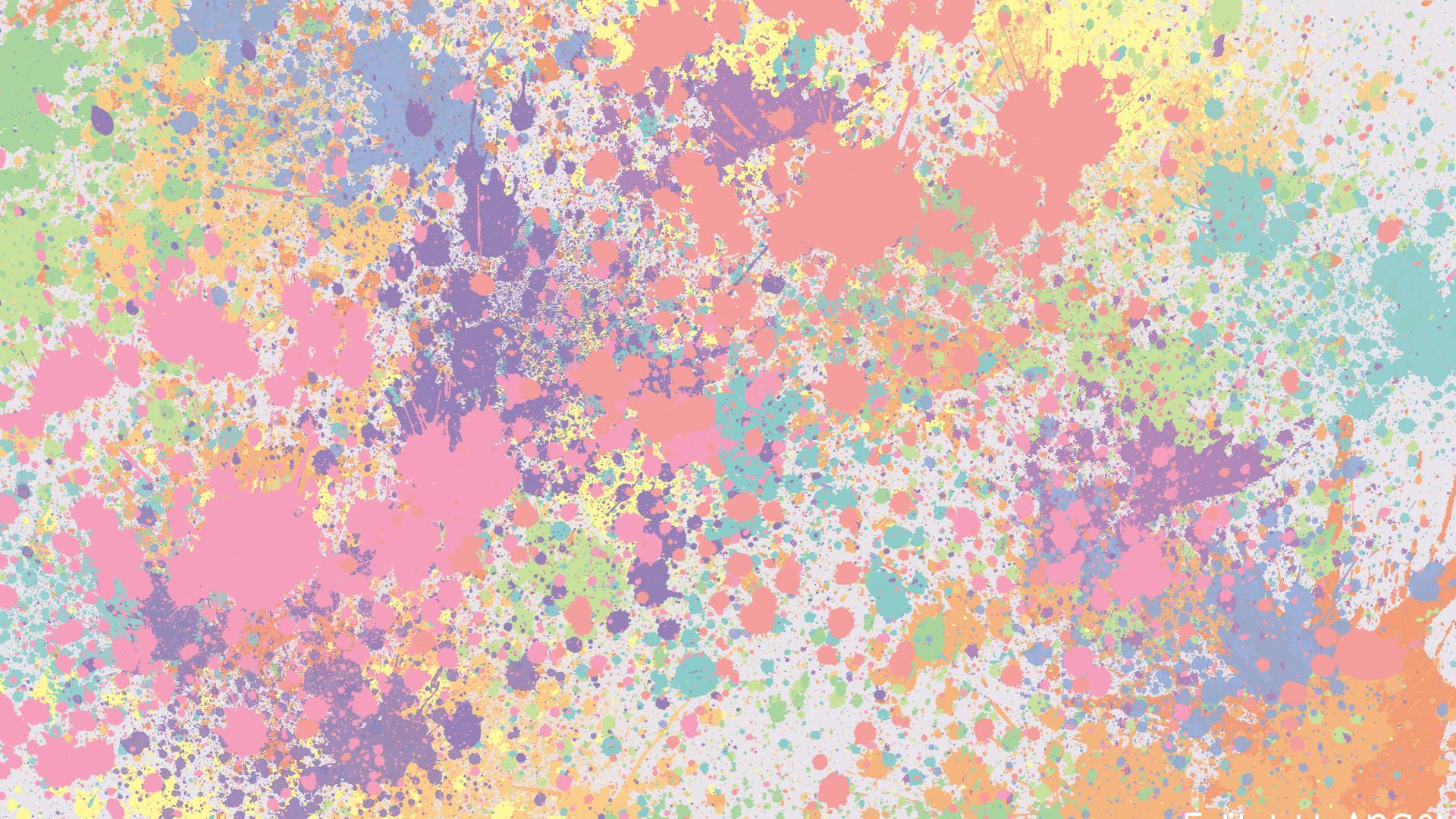Free Download Pastel Wallpaper Tumblr Pastel Splat Wallpaper By