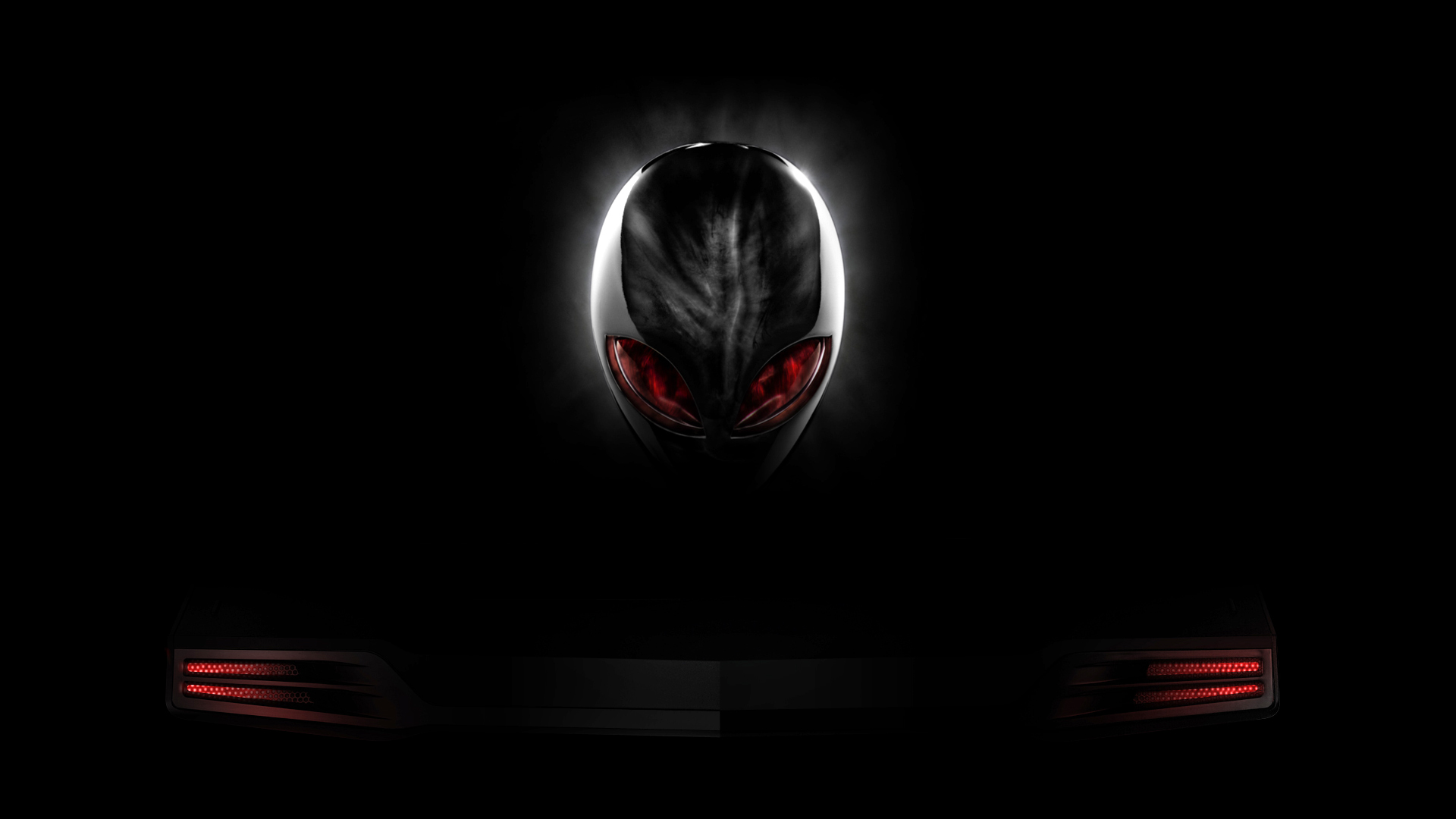 red eyes logo black background hd