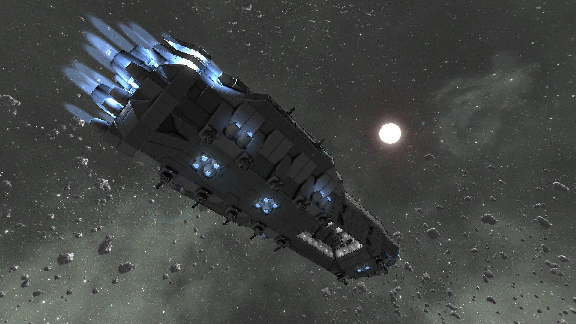 science fiction space sandbox - HD1920×1080