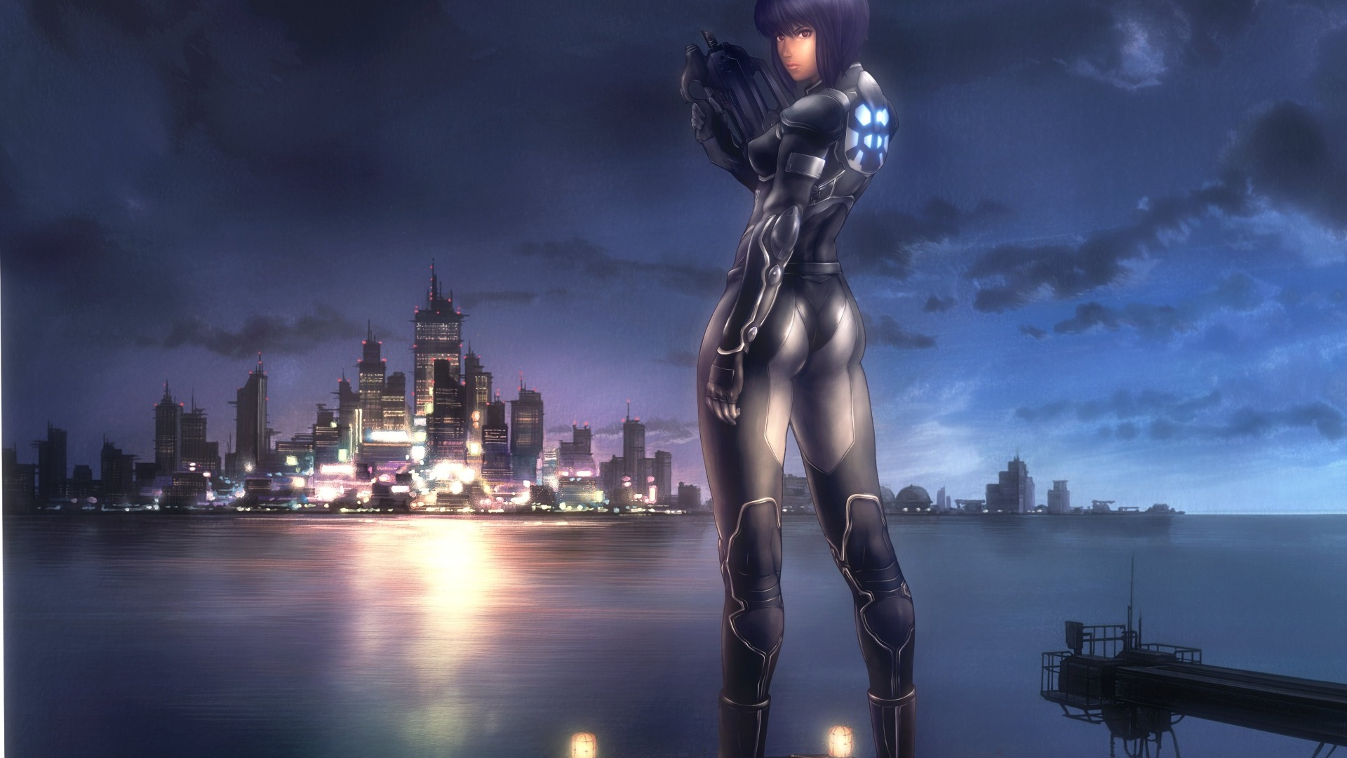 Free Download Ghost In The Shell Desktop Wallpaper 1920x1200 For
