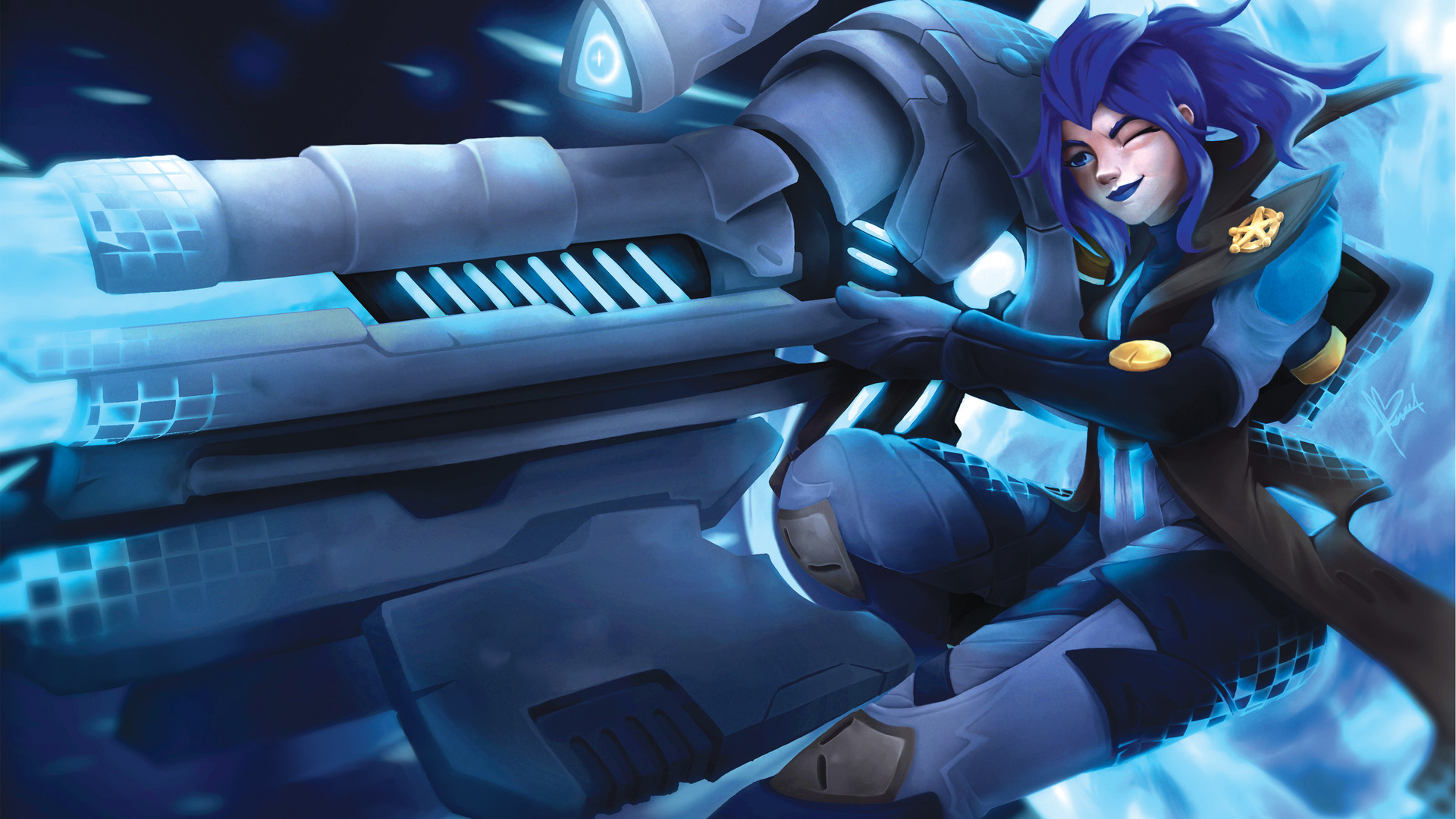 Free Download Pulsefire Caitlyn Lol Wallpapers 1920x1357 For