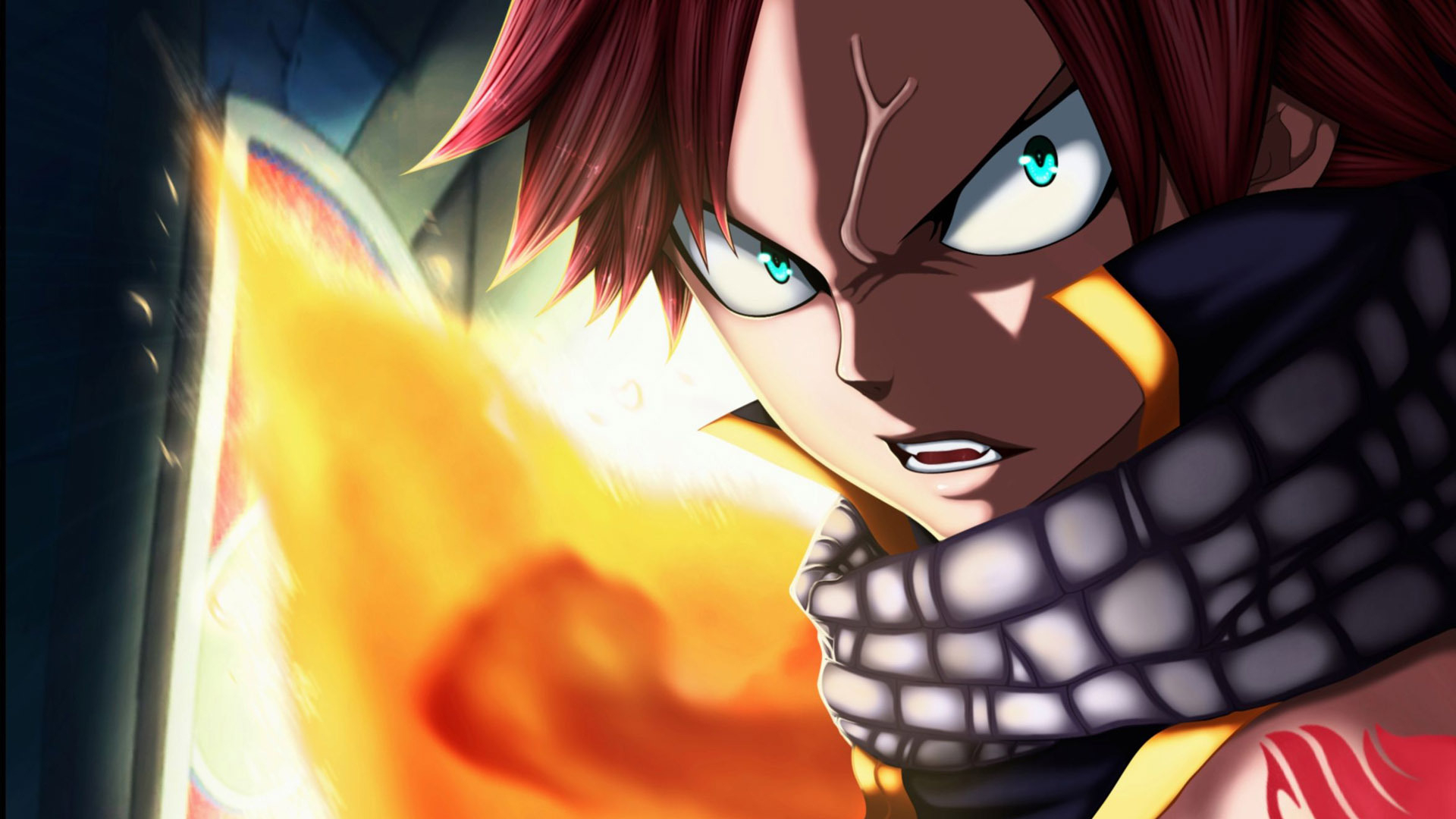 Free Download High Resolution Fairy Tail Natsu Dragon Force