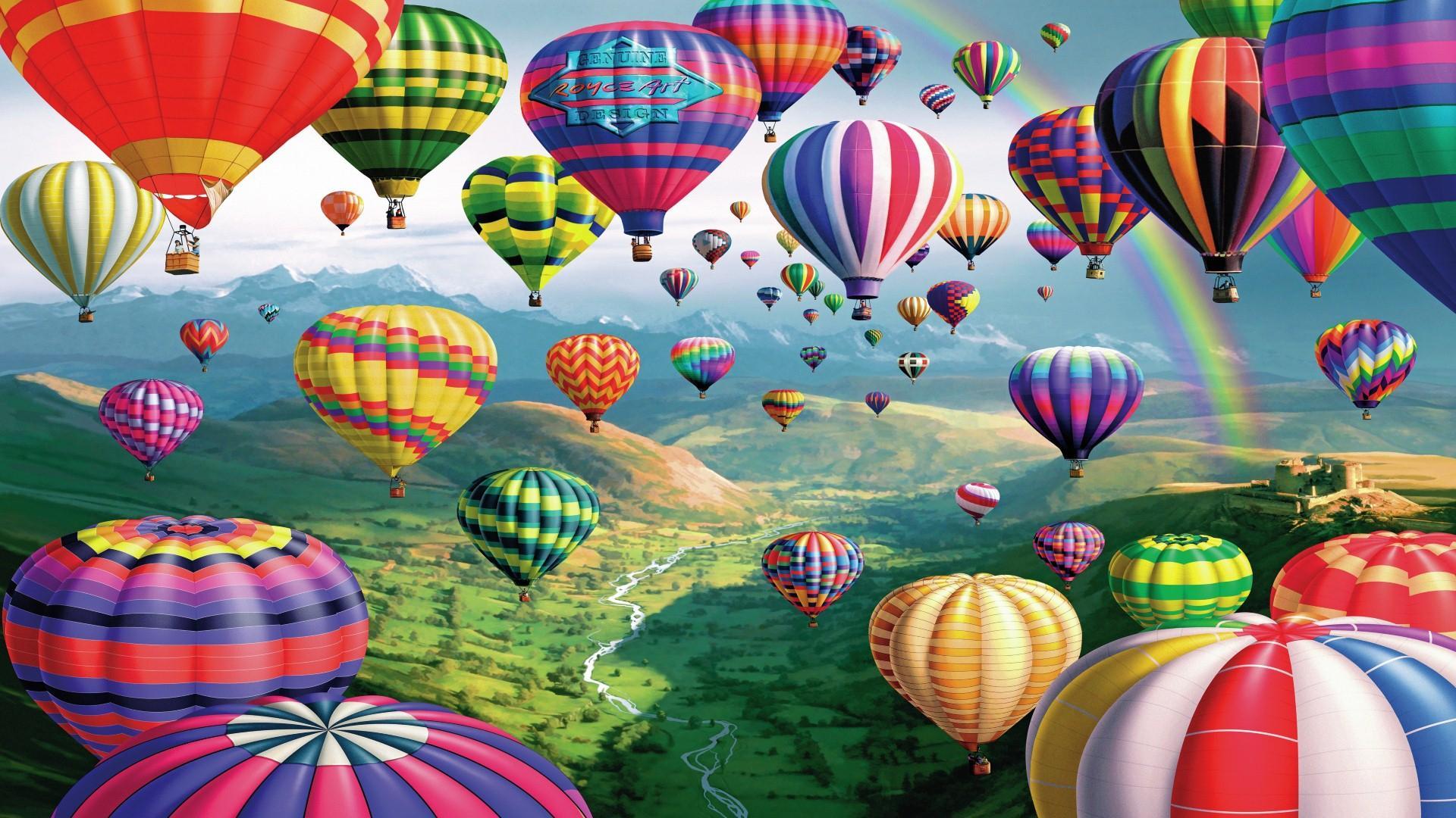 картинки на рабочий стол воздушные шары на весь экран лидер этом