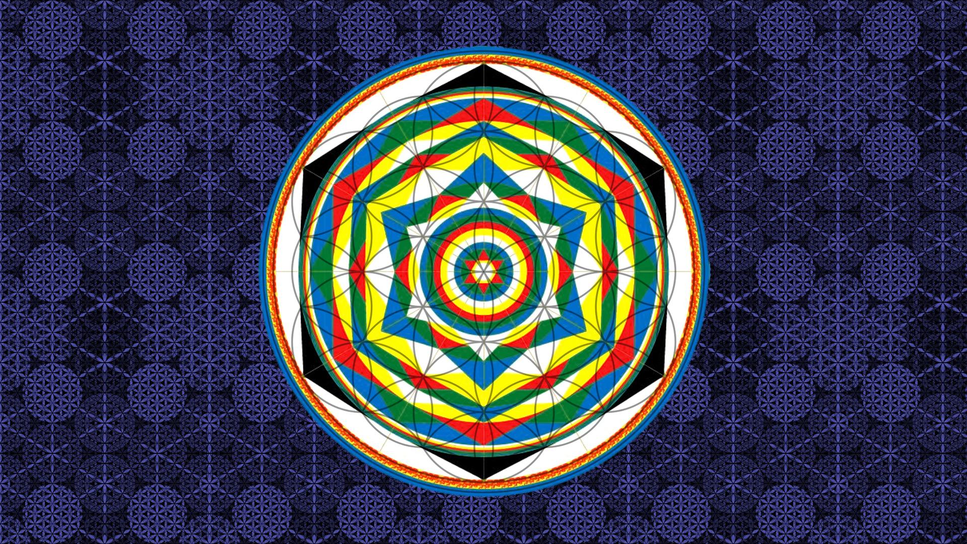 Free Download Life Flower Wallpaper Mandala Universal Symposion
