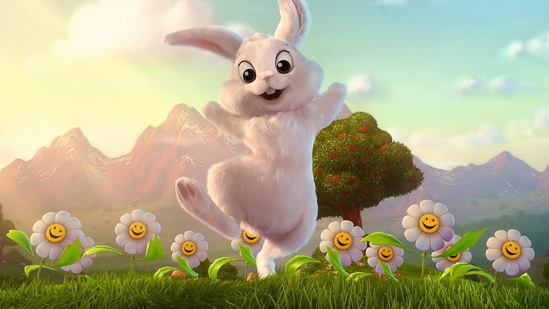 Free Download Easter Bunny Wallpaper 1041 1920x1200 For Your