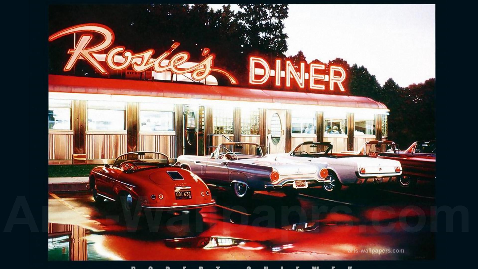 POSTER Rosies Diner Robert Gniewek