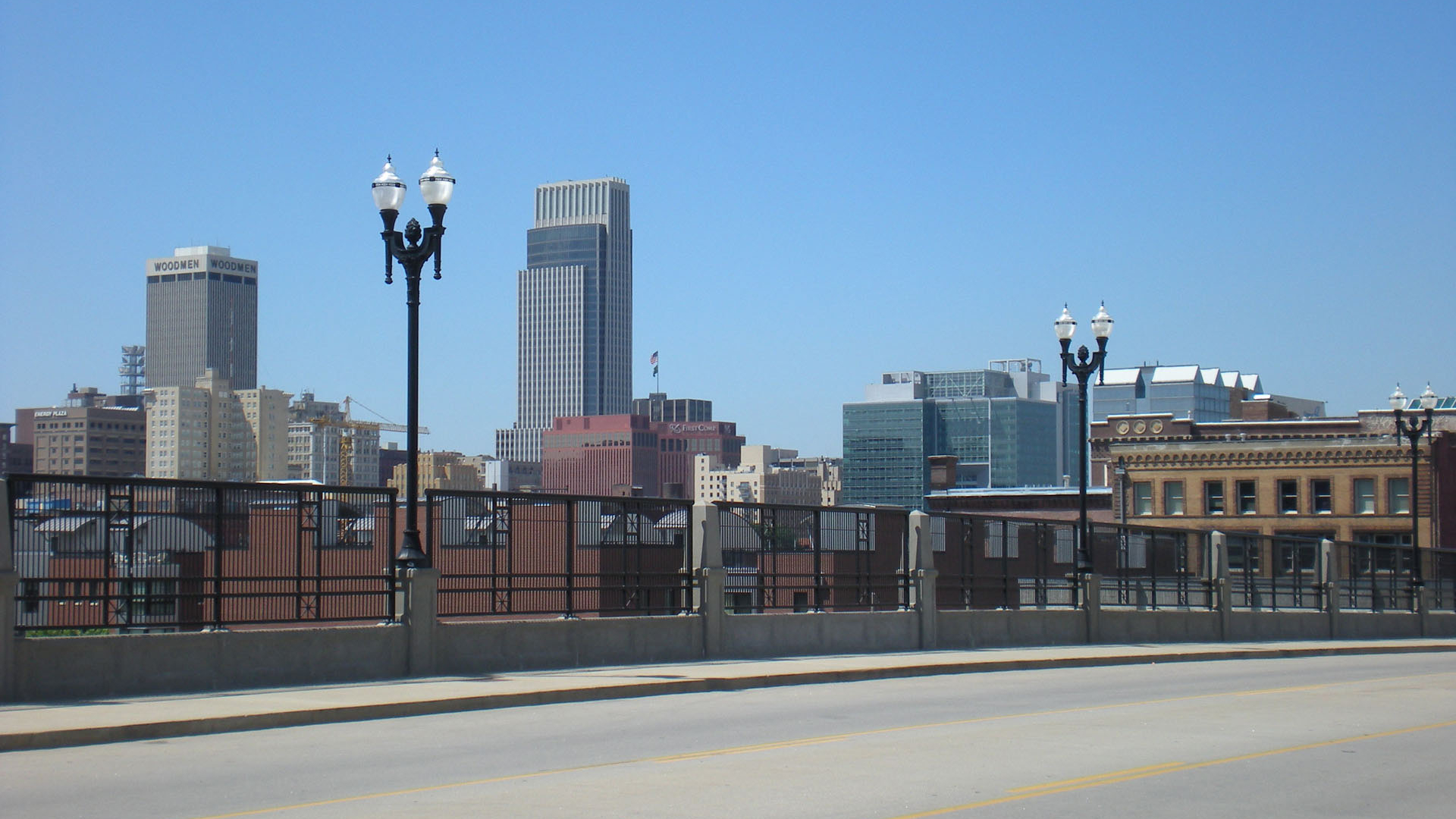 Free download omaha city skyline in city of omaha usa omaha