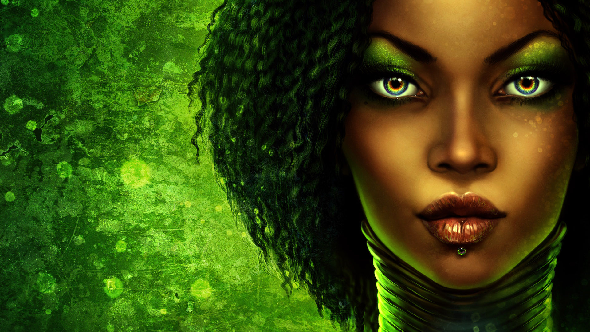 Download african women desktop wallpaper 1920x1200 50 african american art wallpaper - Beautiful girl screensaver ...