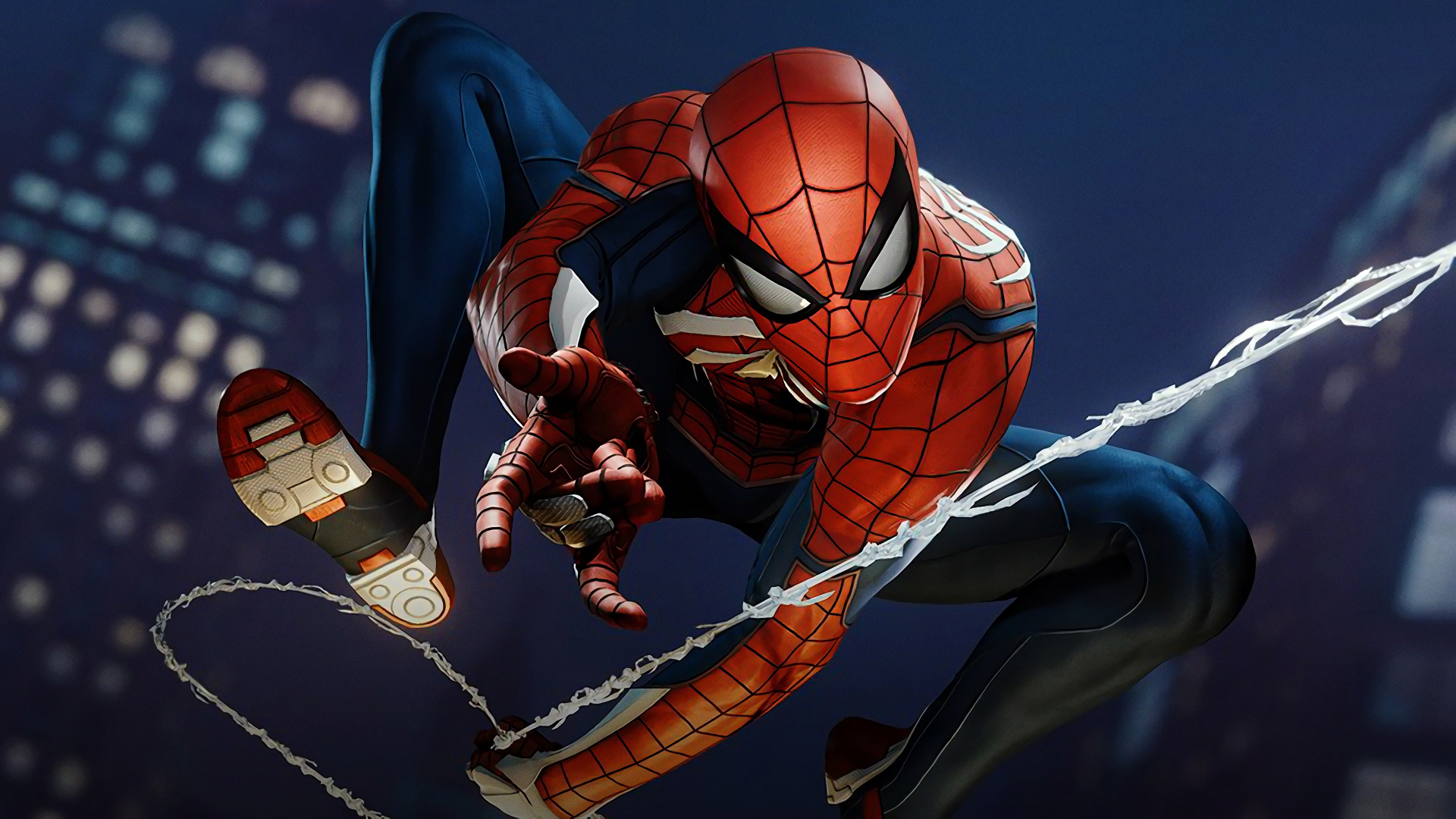 Free Download Spider Man Ps4 Spider Man Web Swing 4k Ultra Hd Wallpaper 3840x2160 For Your Desktop Mobile Tablet Explore 25 Ps4 Spider Man Wallpapers Ps4 Spider Man Wallpapers Spider Man