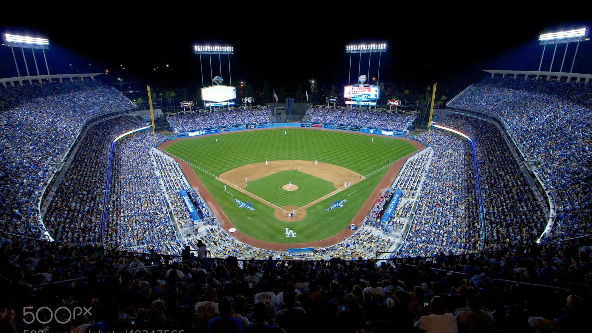 Free download Dodgers Stadium Wallpaper