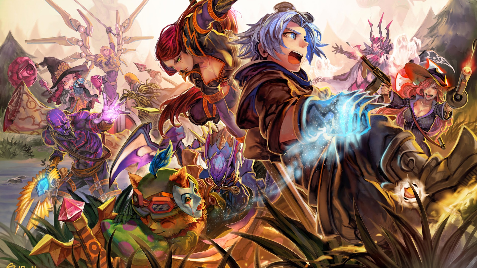 Free Download League Of Legends Anime Wallpapers 1920x1200 For