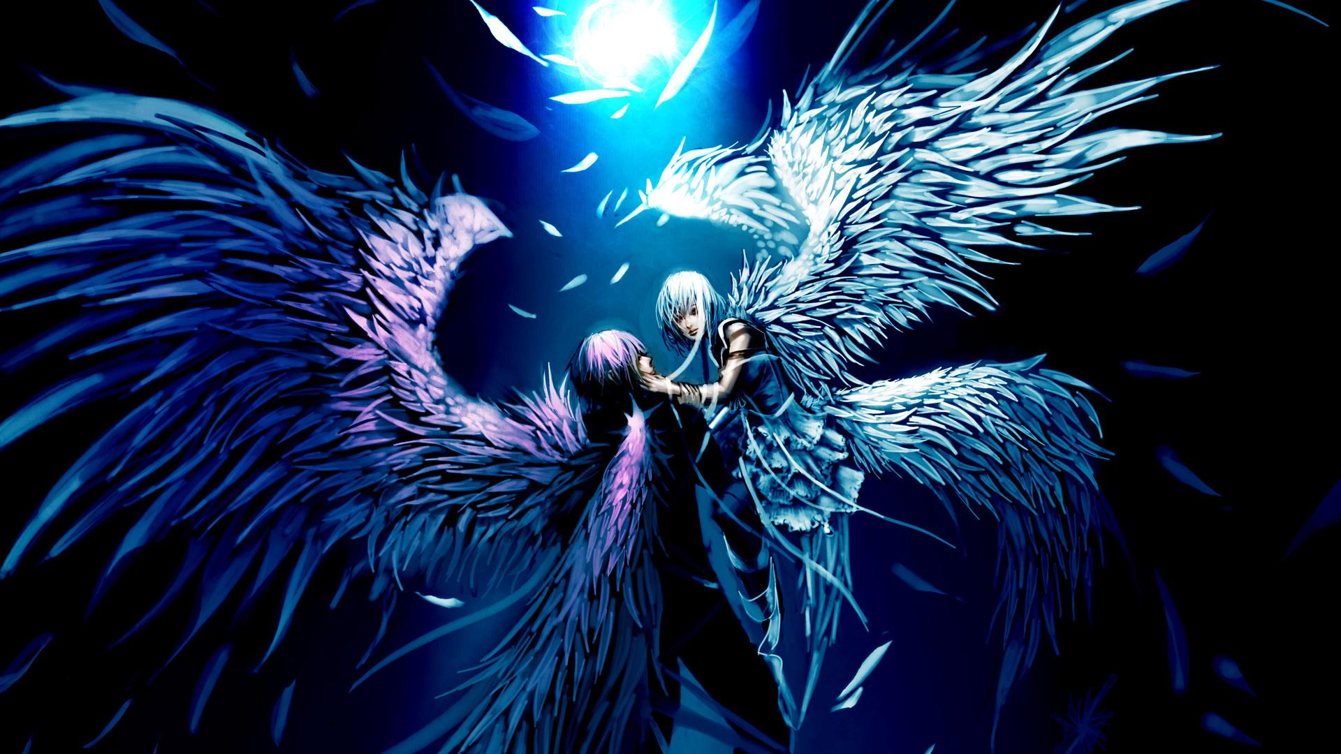 Free Download Full Hd Anime Cupid Angel Full Hd Wallpaper Desktop