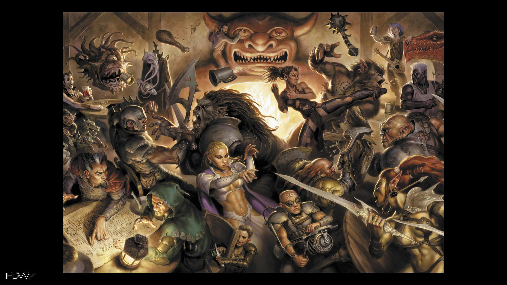 Free Download Dungeons And Dragons Wallpaper Hd 1920x1080 For