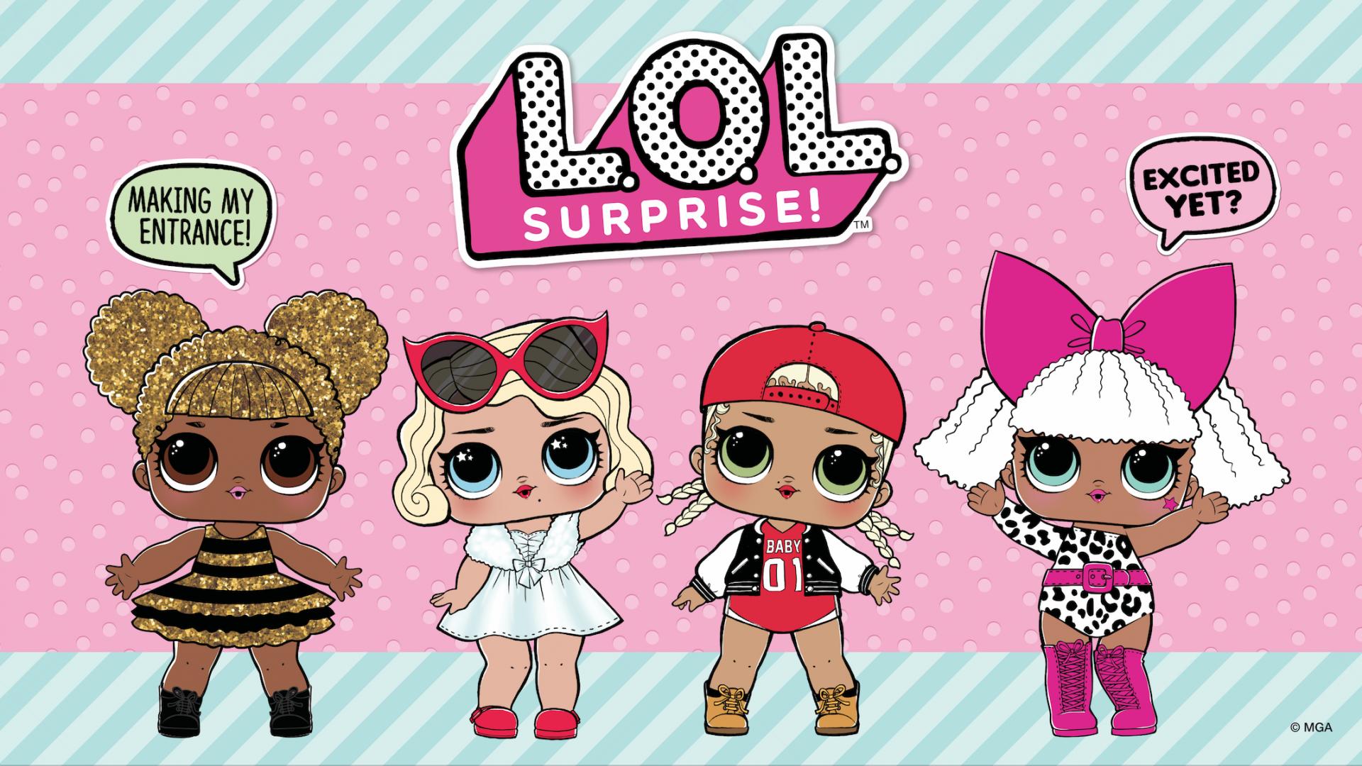 Wallpaper Lol Dolls Background