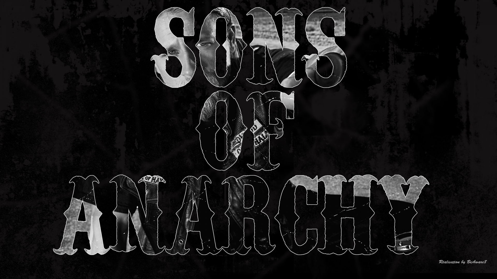 Free Download Sons Of Anarchy Typo By Beaware8 2560x1440 For