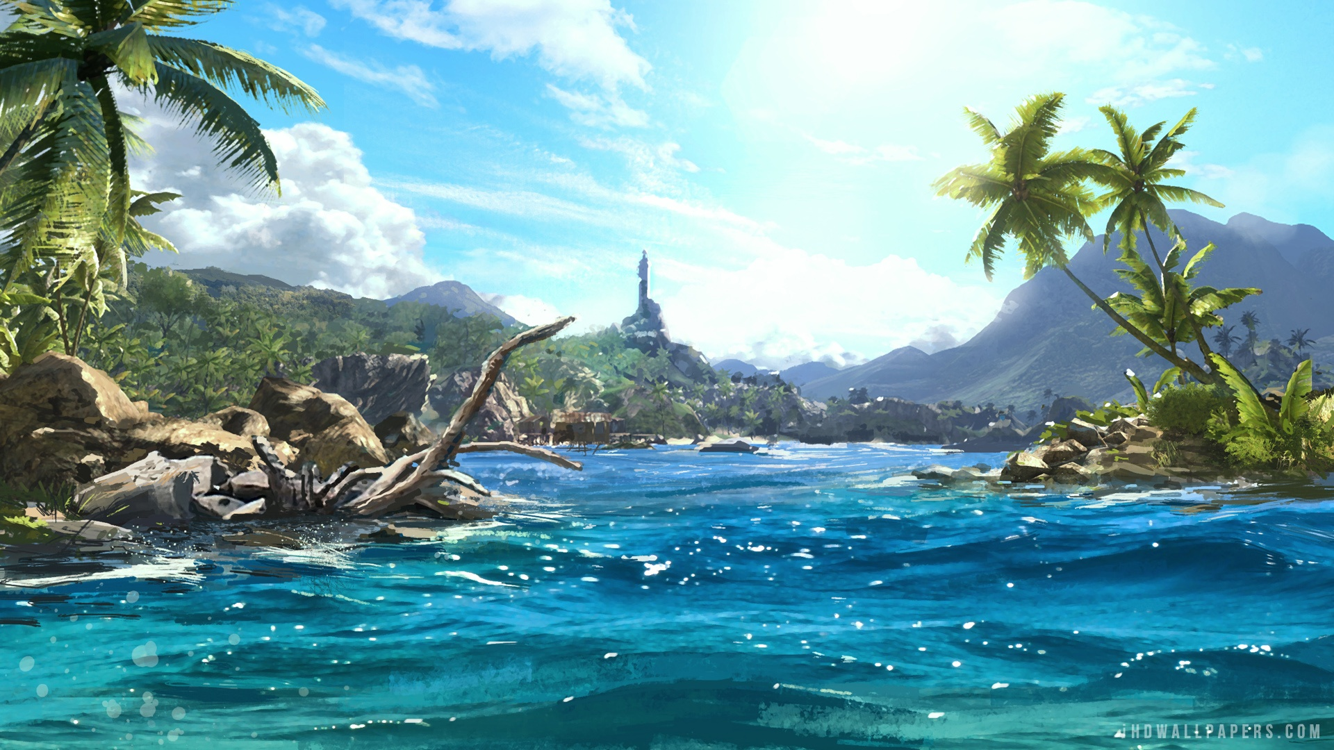 Free Download Far Cry 3 Scenery Hd Wallpaper Ihd Wallpapers