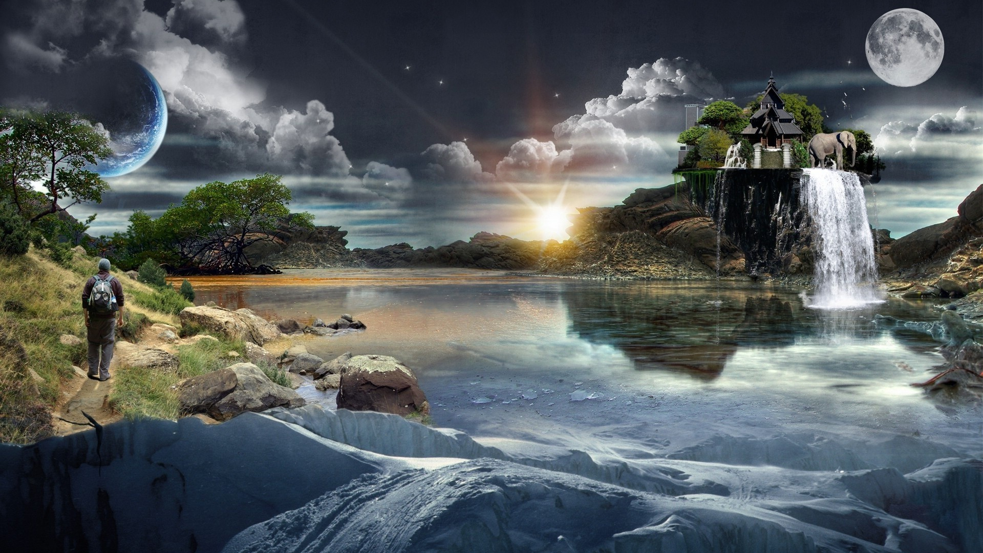 1920x1200px fantasy world backgrounds - wallpapersafari