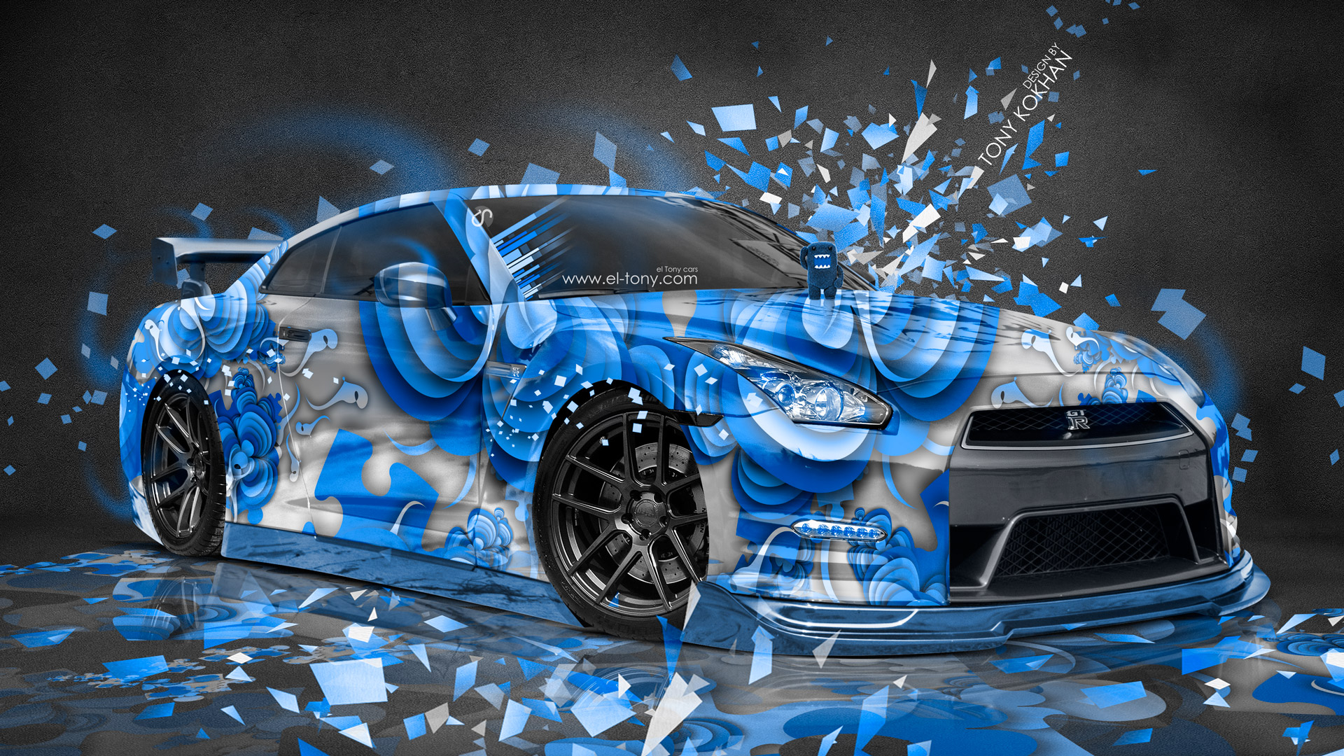 Free Download Nissan Gtr R35 Jdm Style Domo Kun Toy Car 2015 El Tony 1920x1080 For Your Desktop Mobile Tablet Explore 75 3d Wallpapers For Pc 3d Wallpaper For