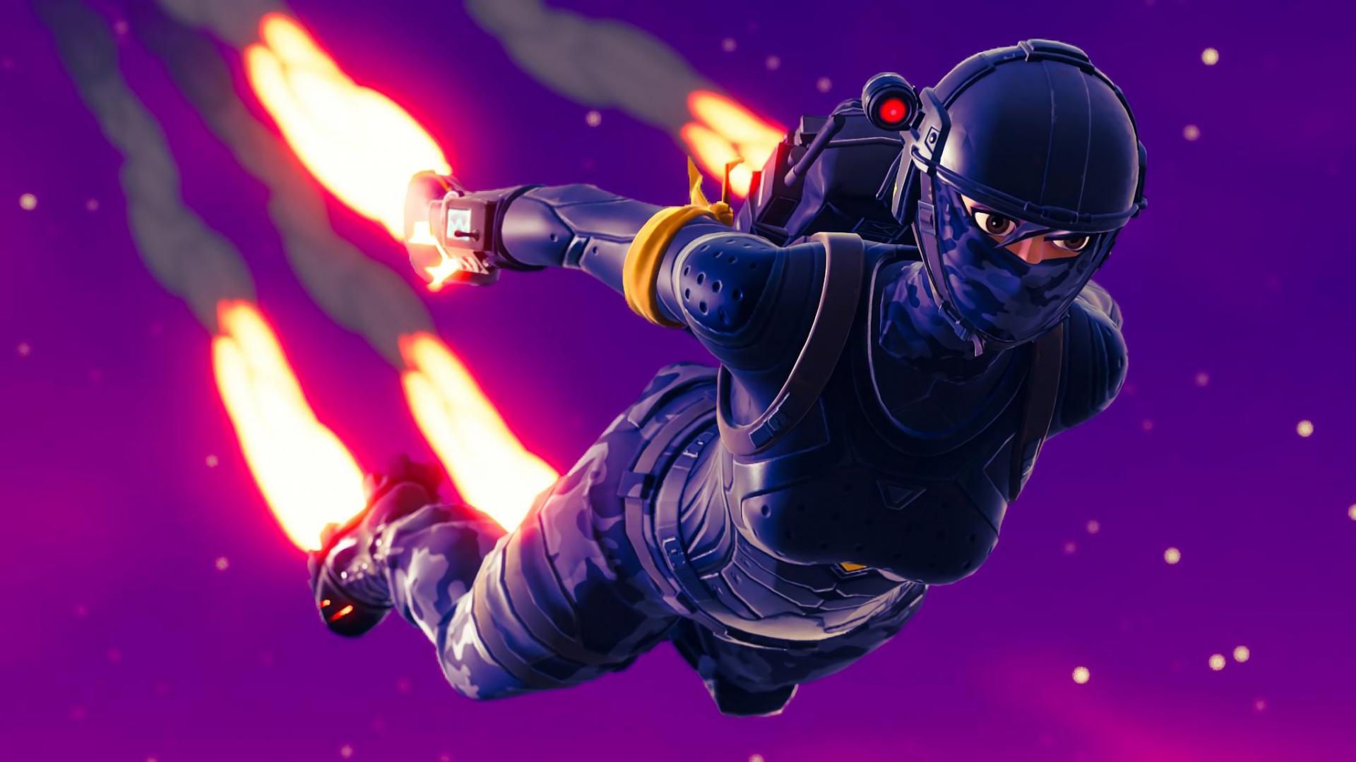 Free Download 2048x1152 Elite Agent Skydive Fortnite Battle