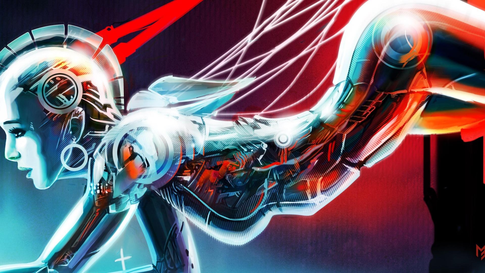 14+ Anime Girl Robot Wallpaper - Michi Wallpaper