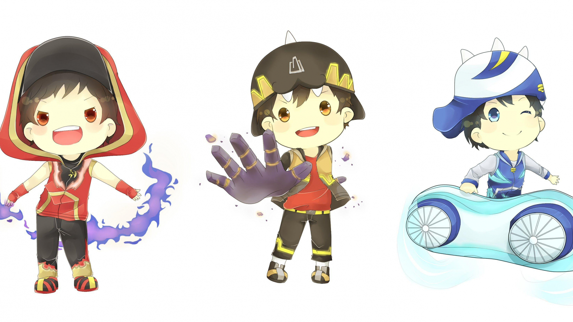 Free BoBoiBoy Wallpapers [6617x1843] For Your