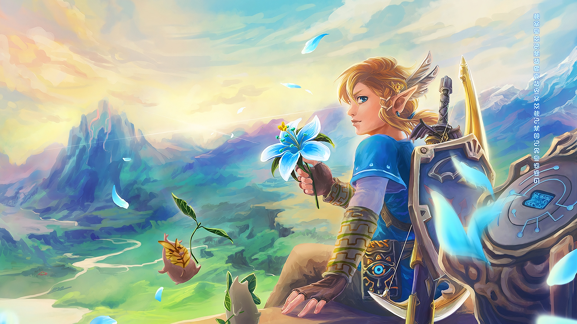 Free Download The Legend Of Zelda Breath Of The Wild Video Game