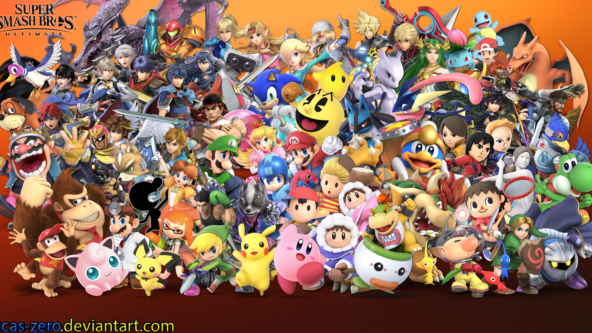 Free Download Super Smash Bros Ultimate Wallpaper By Lucas Zero On