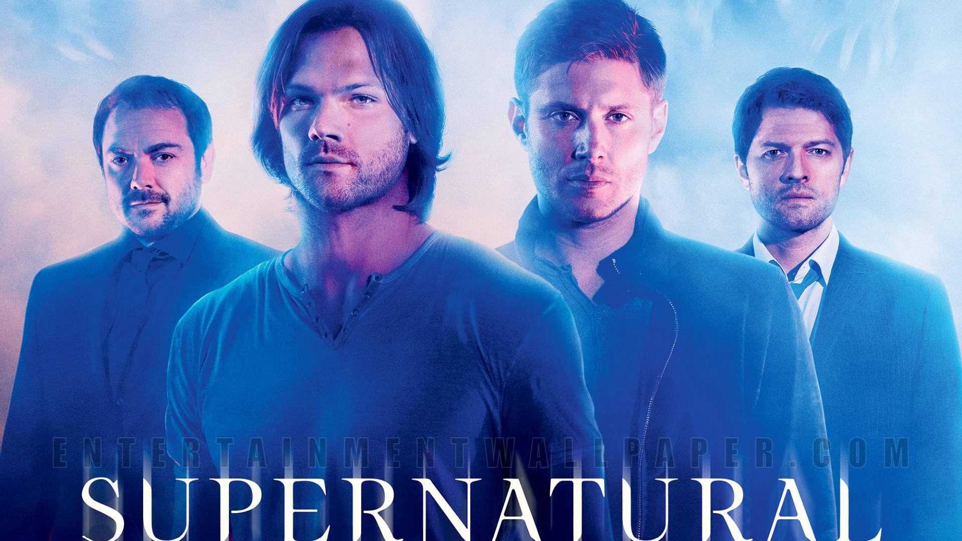 Free Download Supernatural Sam Dean Castiel And Crowley Wallpaper