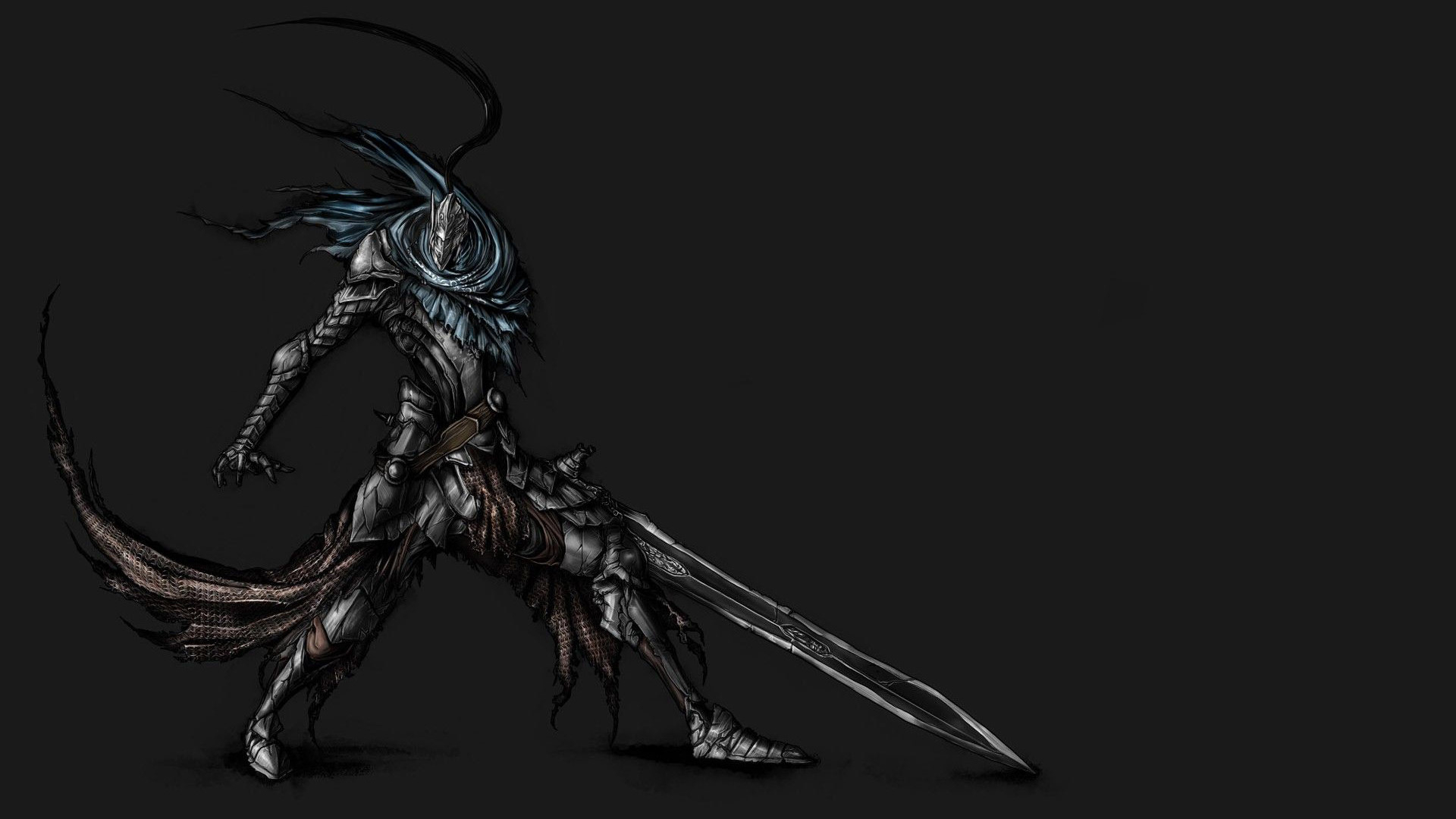 Free Download Knight Artorias Sword Dark Souls Wallpaper