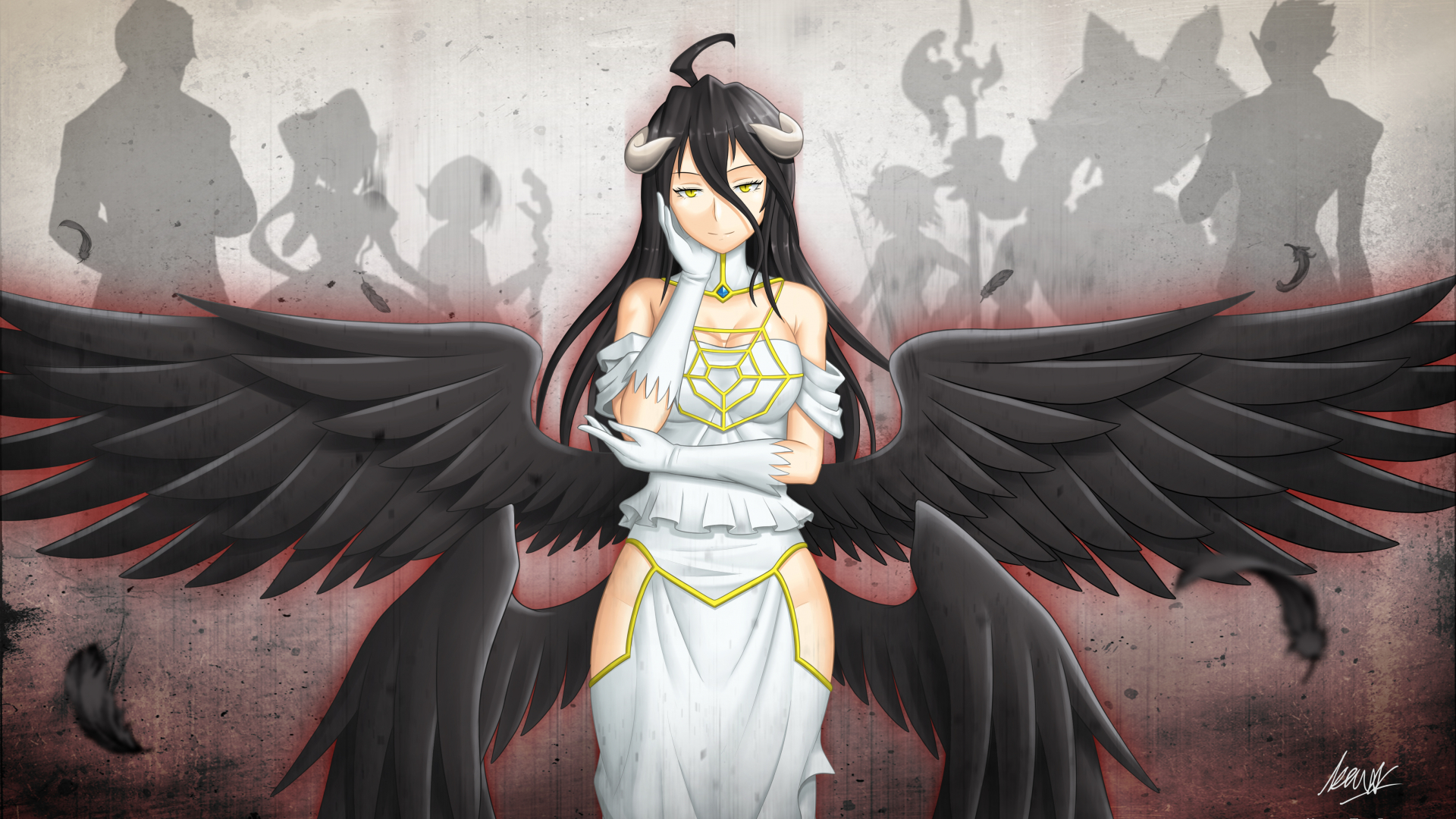 Free Download Anime Overlord Overlord Demiurge Cocytus Mare Bello Fiore Aura Bella 4492x2713 For Your Desktop Mobile Tablet Explore 49 Overlord Anime Albedo Wallpaper Overlord Anime Albedo Wallpaper Overlord