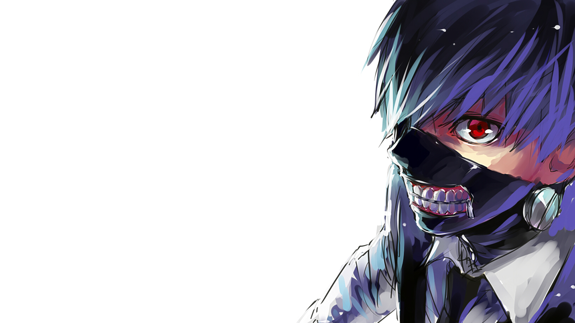 Free Download Mask Tokyo Ghoul Anime Wallpaper Hd 1920x1080