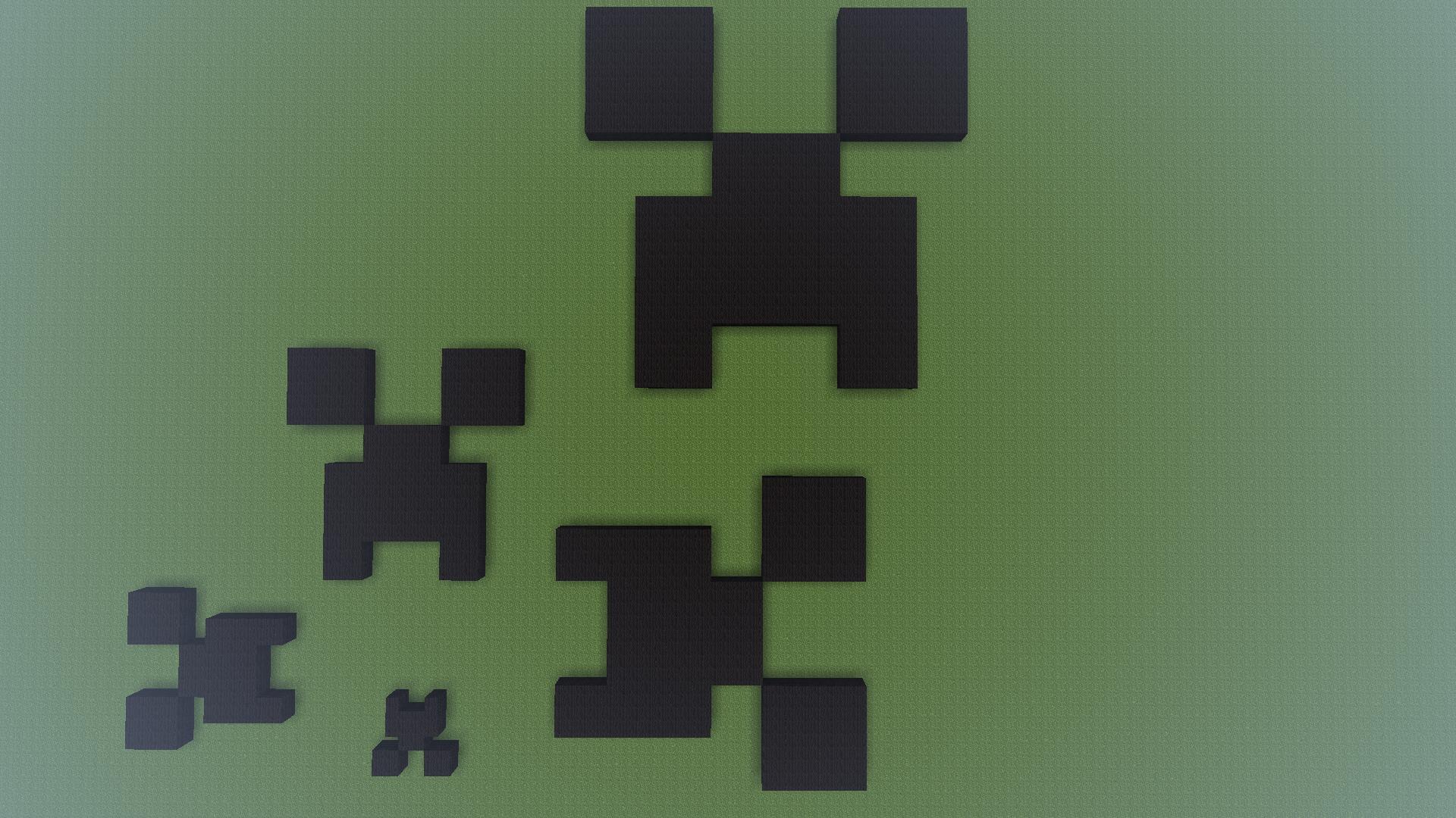 картинки на рабочий стол крипера из майнкрафт #4