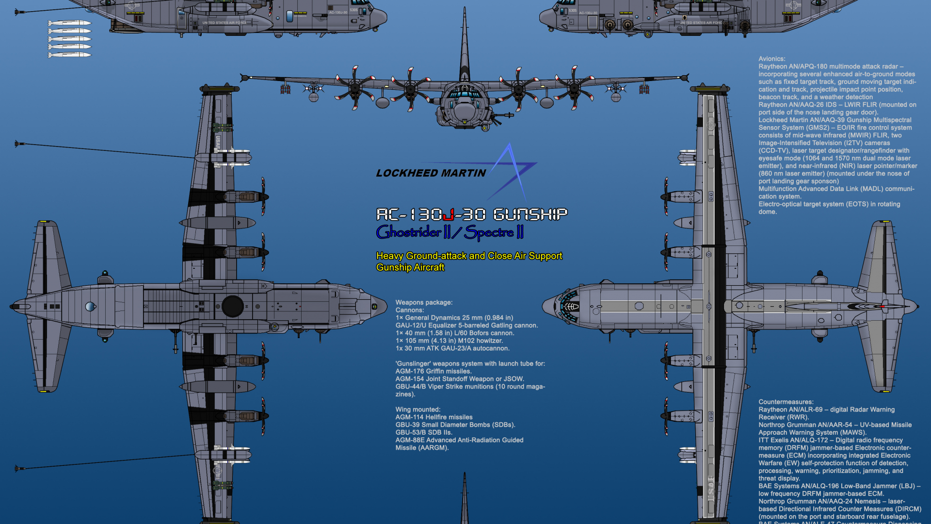 Free Download Angel Of Death Wallpaper Ac 130 Lockheed Martin Ac