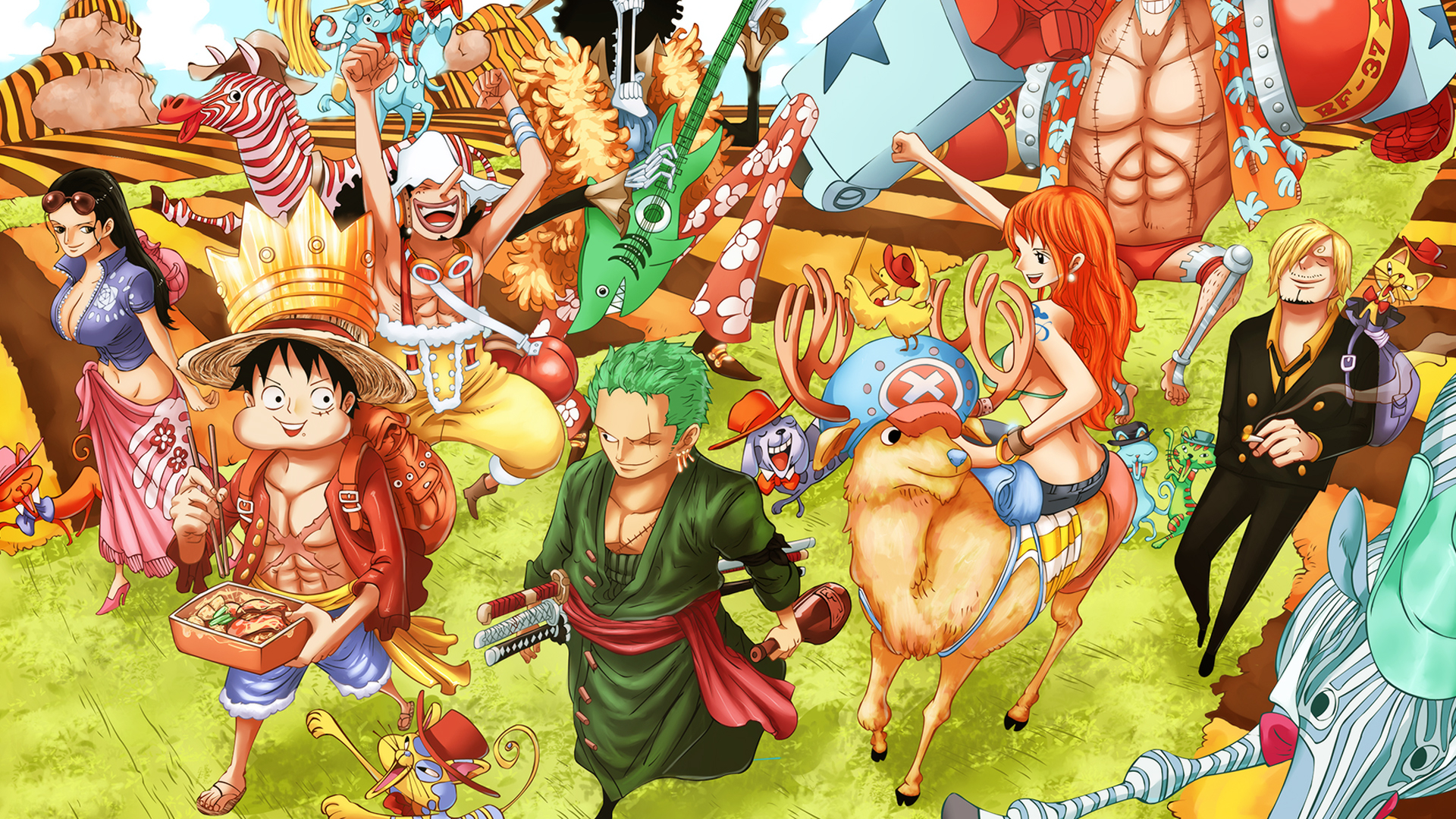Free Download One Piece Wallpaper After 2 Year Straw Hat Crew One