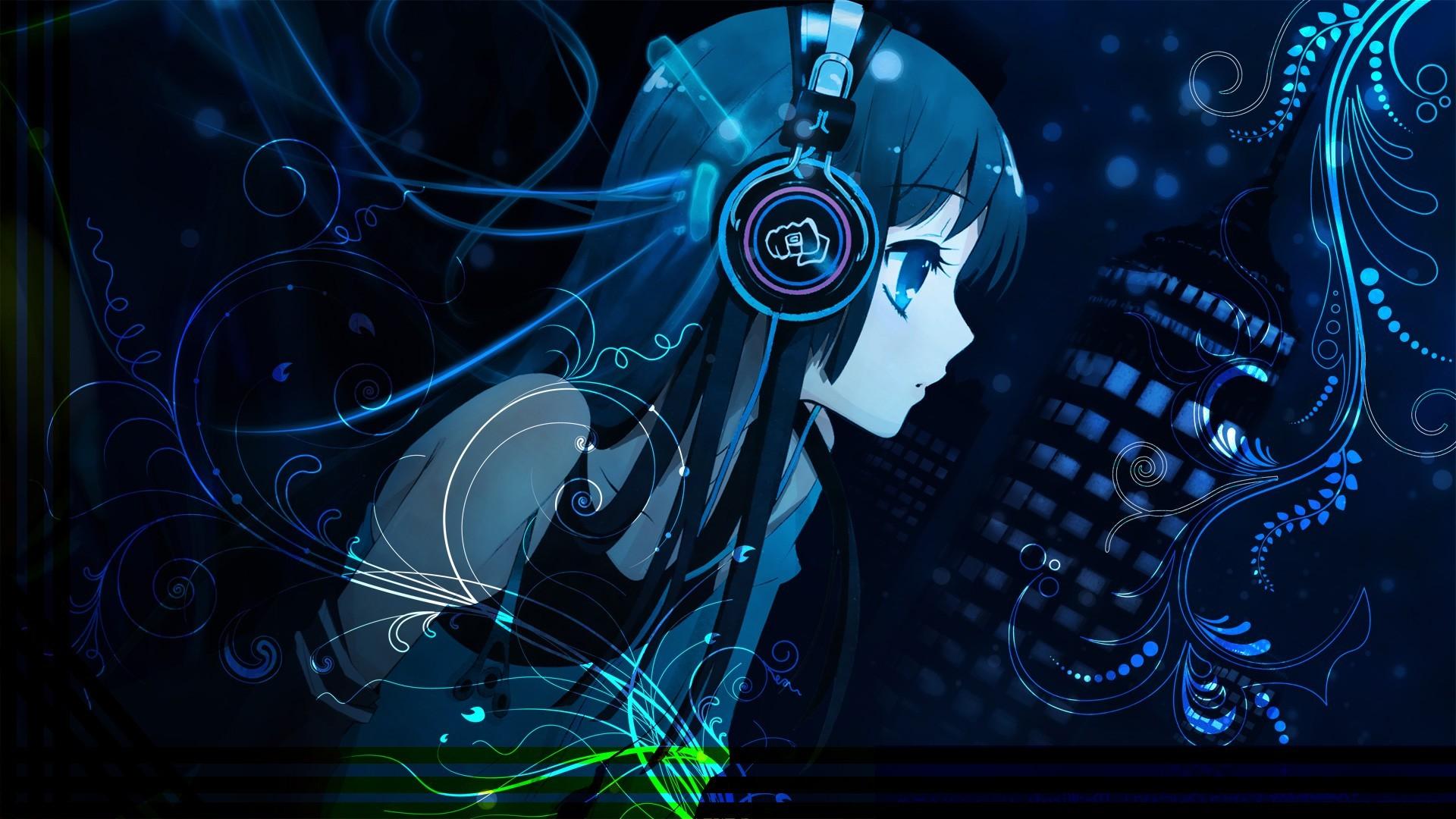 Free Download Anime Music Girl Wallpaper Dreamlovewallpapers