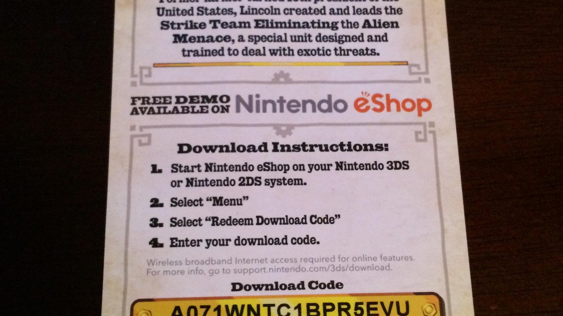 Free Download Game 3ds Download Codes Hd Photos Gallery