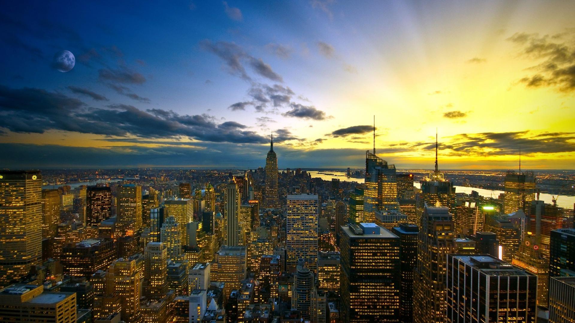 Free Download 2560x1600 New York Metropolis Desktop Pc And