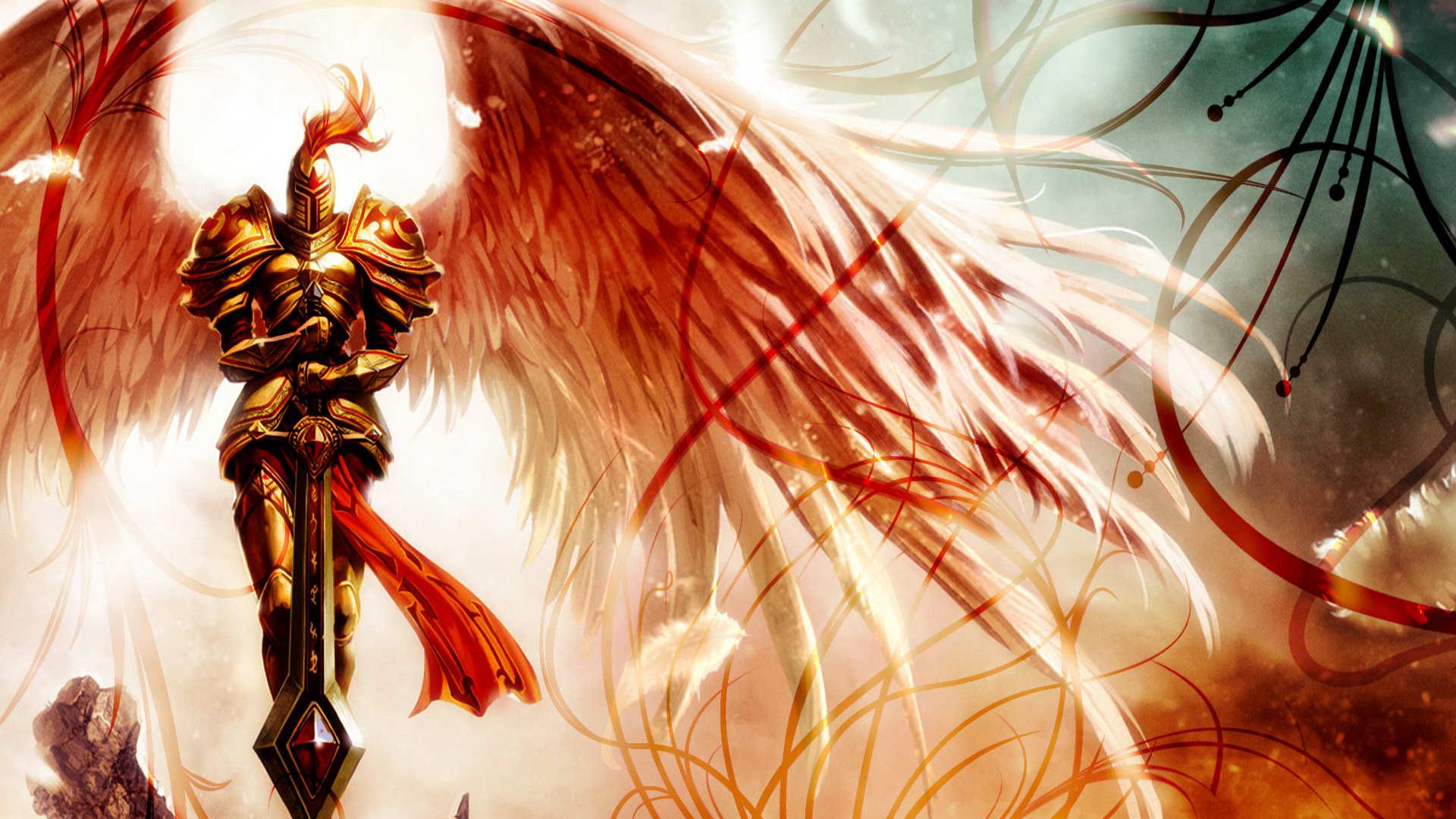 живые обои только ангелы только на смартфон сони соло