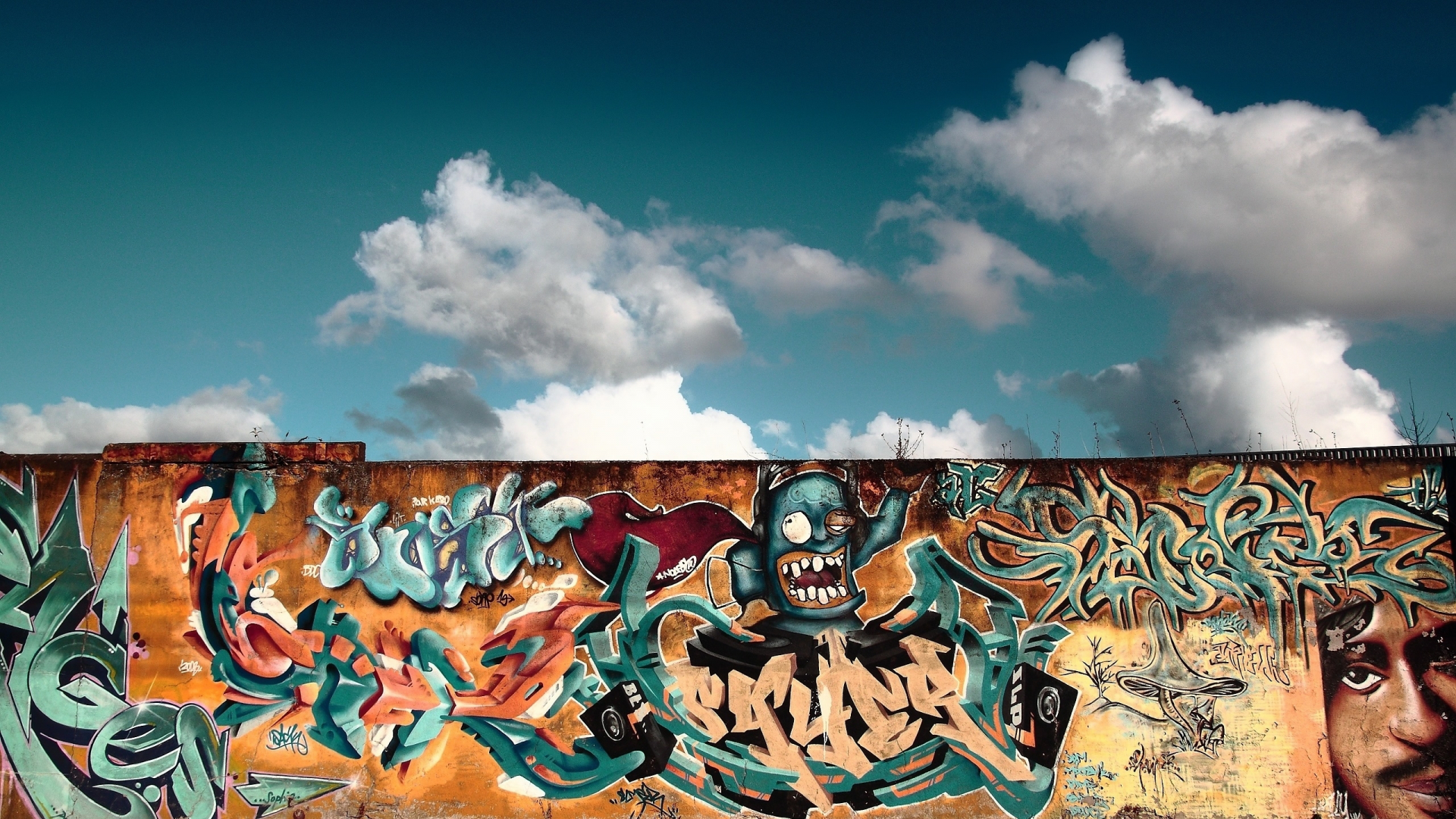 foto de Free download Graffiti Wall Art Mac Wallpaper Download Mac ...