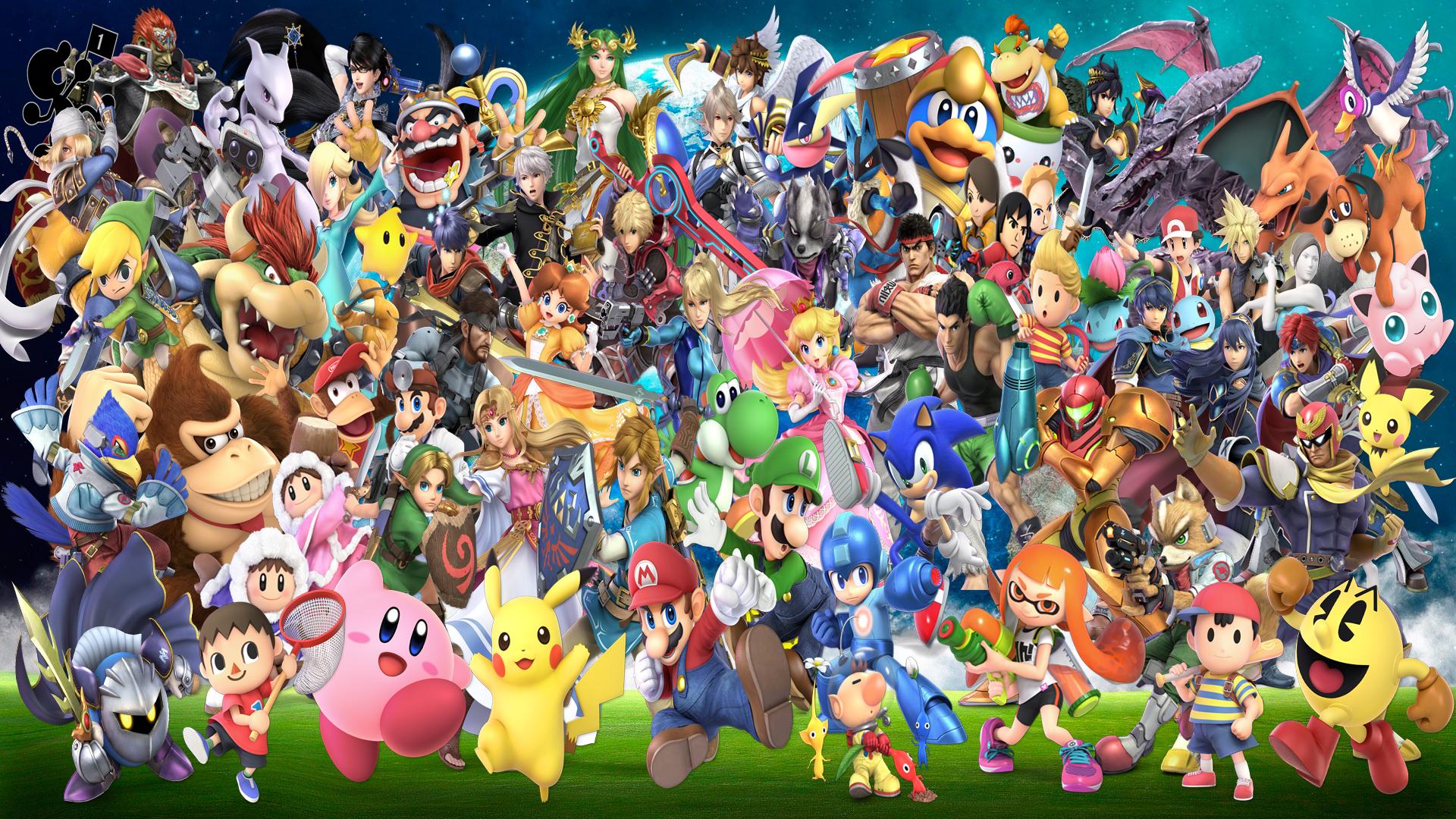 Free download Super Smash Bros Ultimate by DarkManGc ...