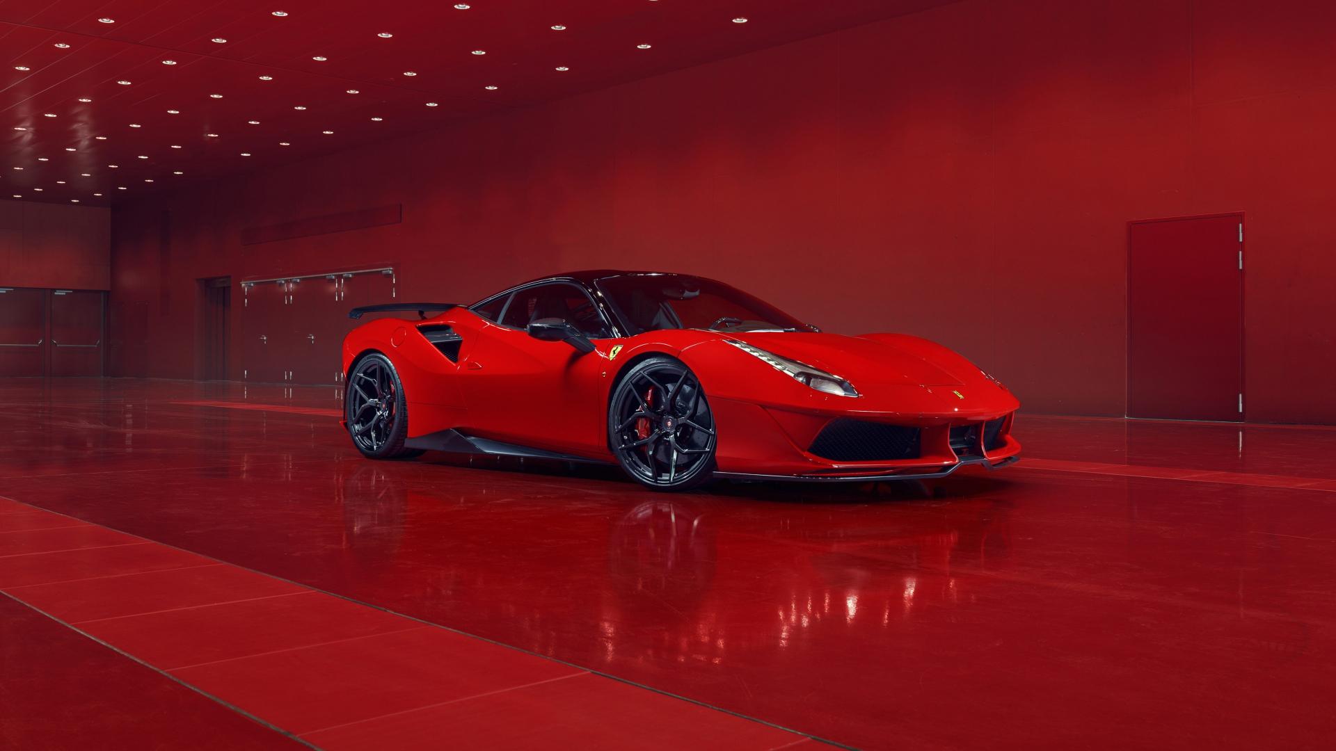 Ferrari Logo 4K Wallpaper Download