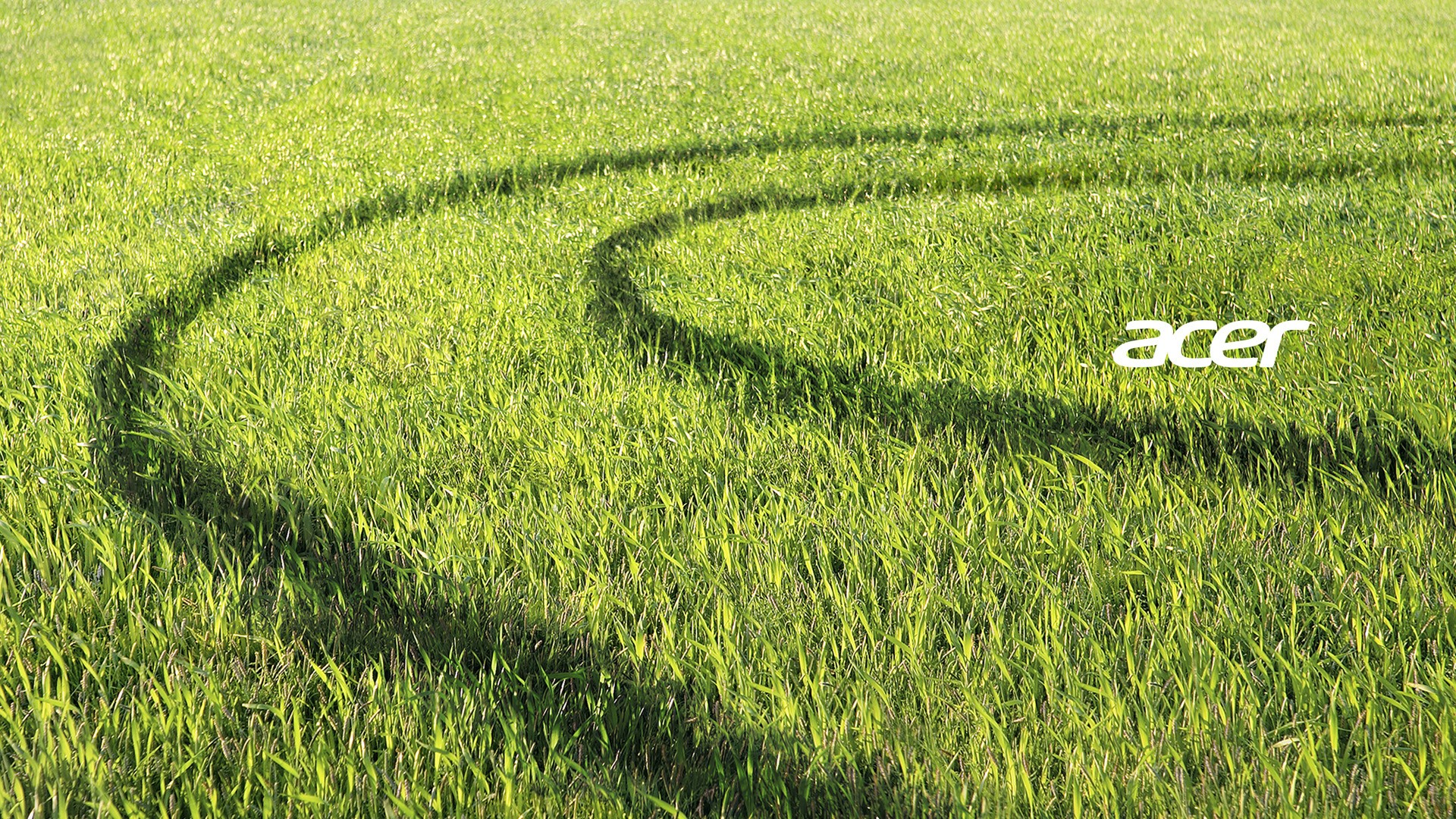 Acer Green Field Wallpaper 1920x1080 1080p