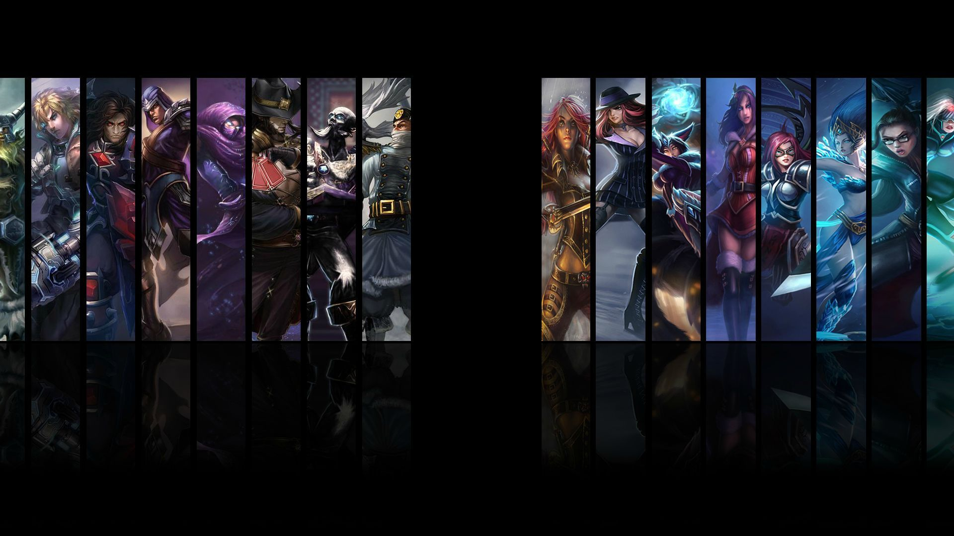 Free Download Dual Monitor Wallpaper League Of Legends Download